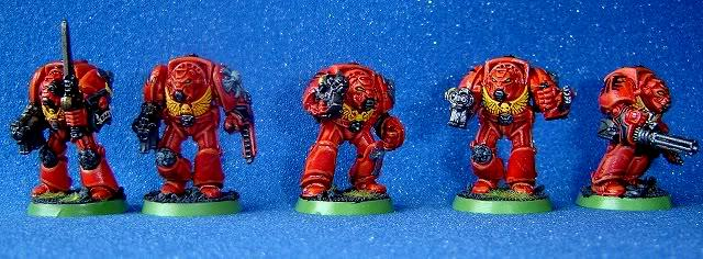 Blood Angels, Rogue Trader, Space Marines, Terminator Armor, Warhammer 40,000