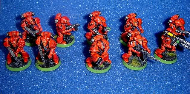 Blood Angels, Rogue Trader, Space Marines, Tactical Squad, Warhammer 40,000