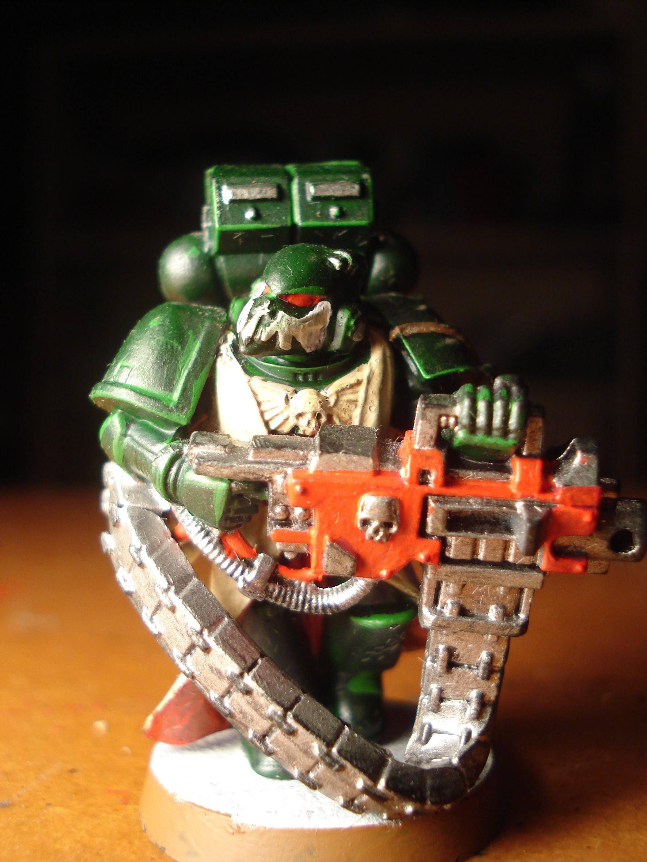 Dark Angels, Heavy Bolter, Space Marines, Warhammer 40,000