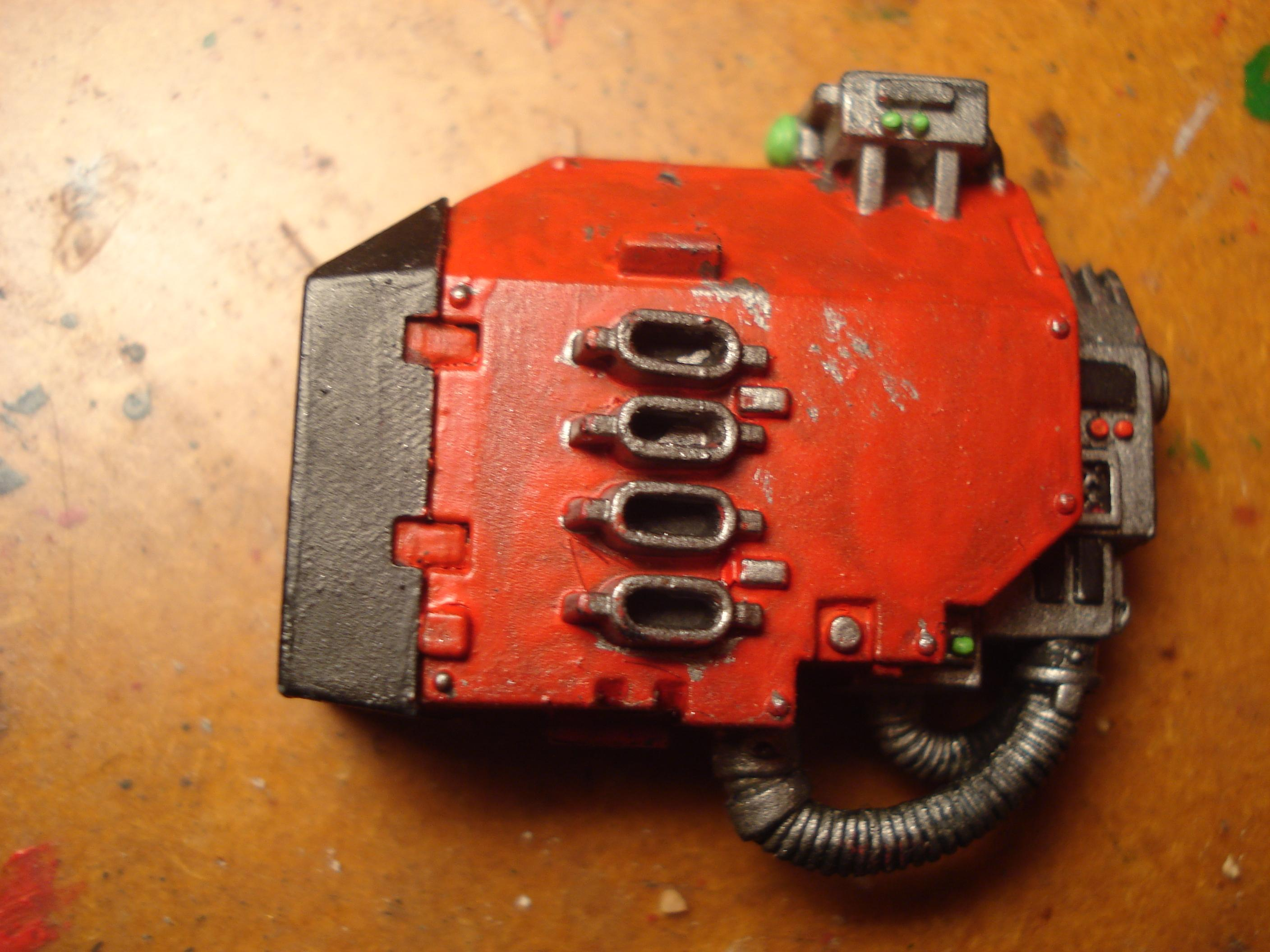 Blood Angels, Dreadnought, Missile Launcher, Space Marines, Warhammer 40,000