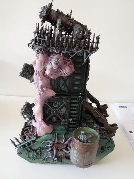 Daemon Engine, Nurgle, Plague Tower, Super-heavy, Work In Progress