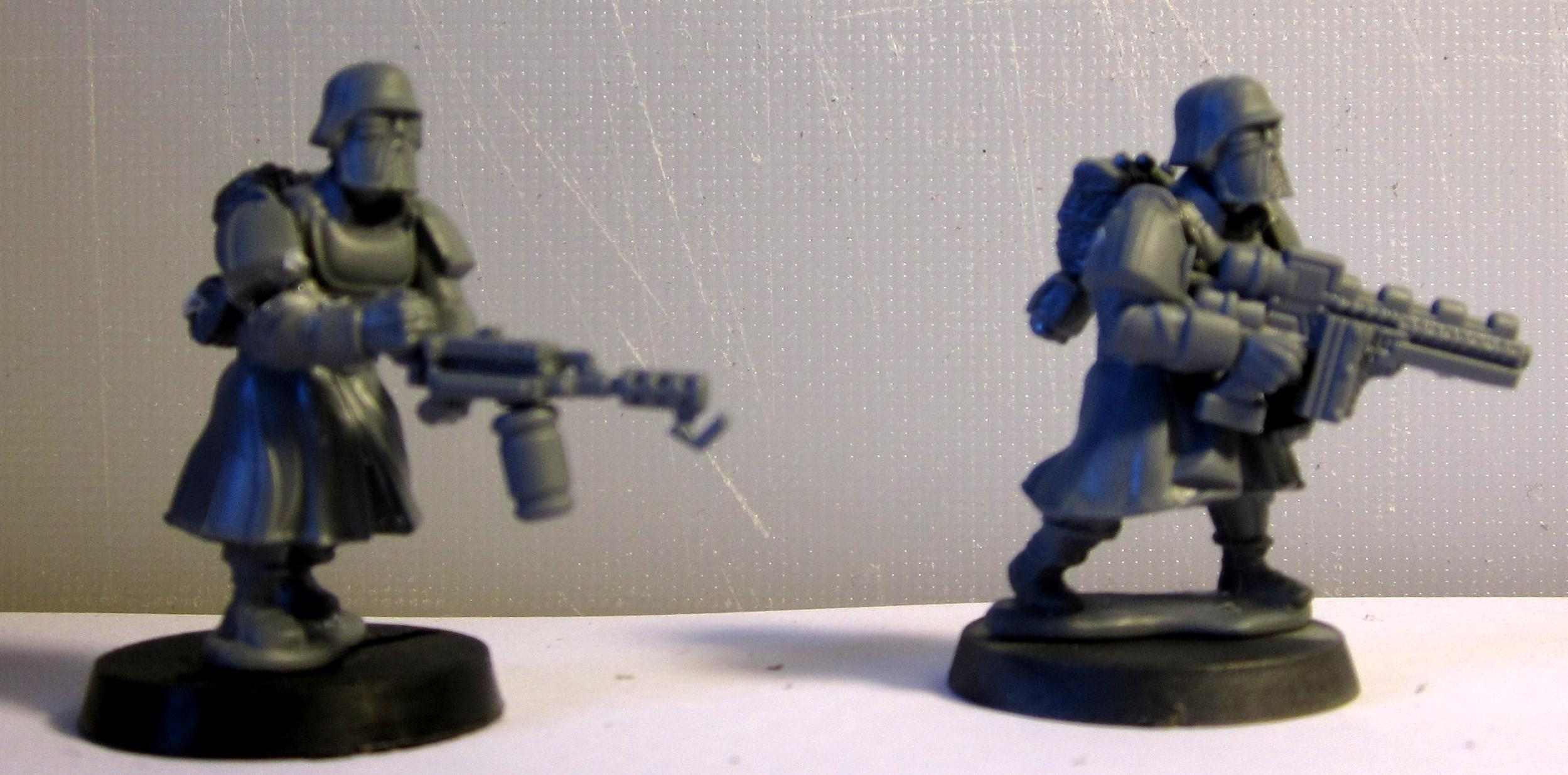Greatcoats, Imperial Guard, Shock Troops, Wargames Factory