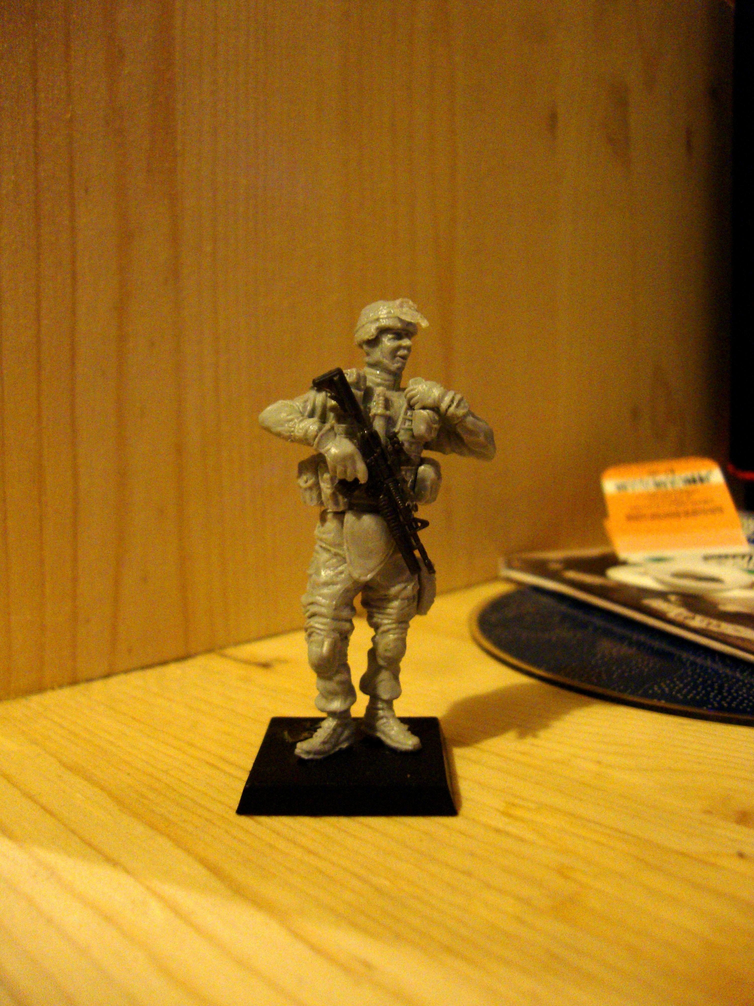 Canadian, Infantry, Modern, Skirmish, Work In Progress