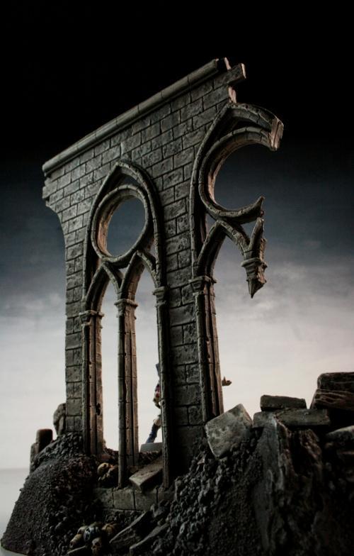 Arches, Chaos, Gothic, Ruins, Scratch Build, Terrain