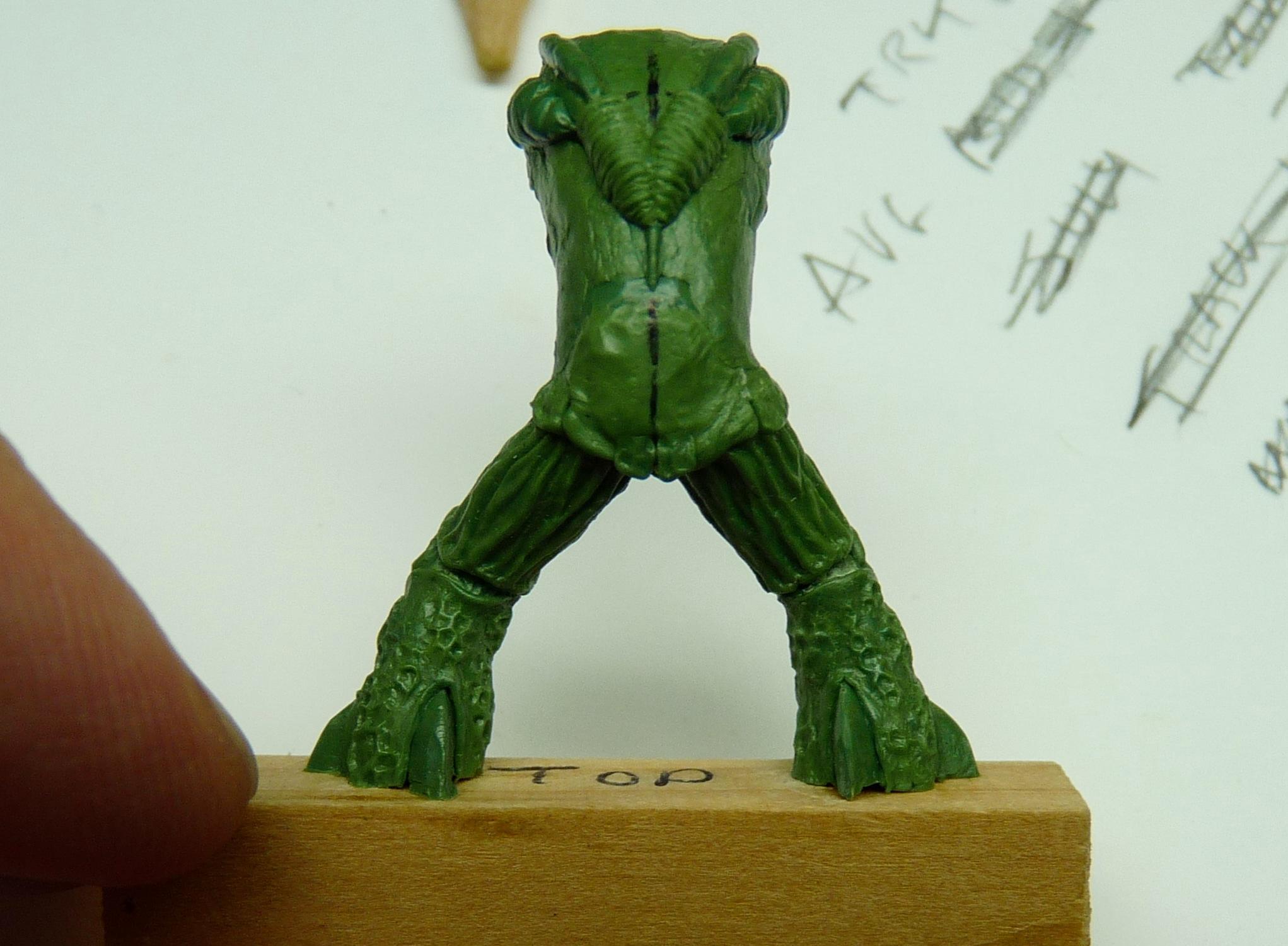 Ambull, Greenstuff, Rogue Trader, Sculpting