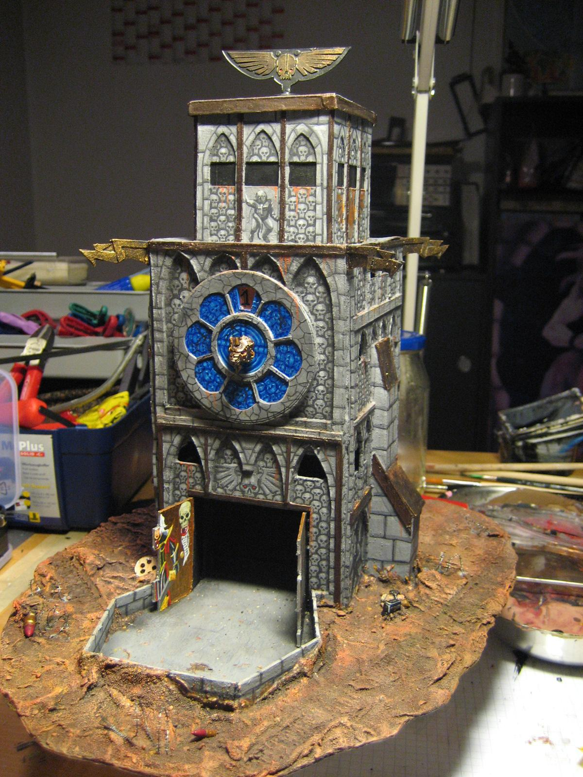 Dice Tower, Objective Marker, Terrain, Turn Counter