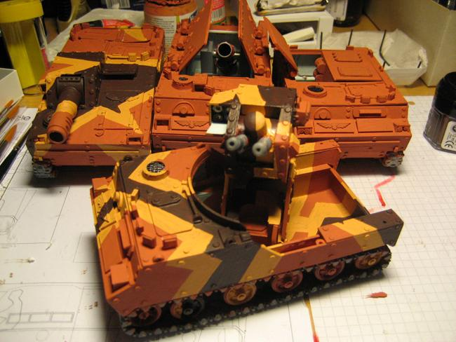 Airmobile Vehicles, Hydra, Imperial Guard, Scratch Build, Tank