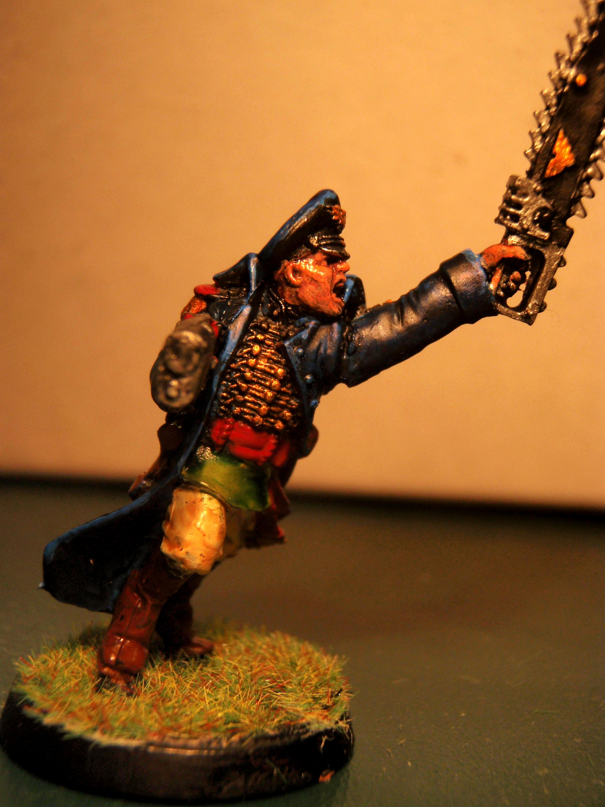 Commissar, Imperial Guard, Lord Commissar, Warhammer 40,000