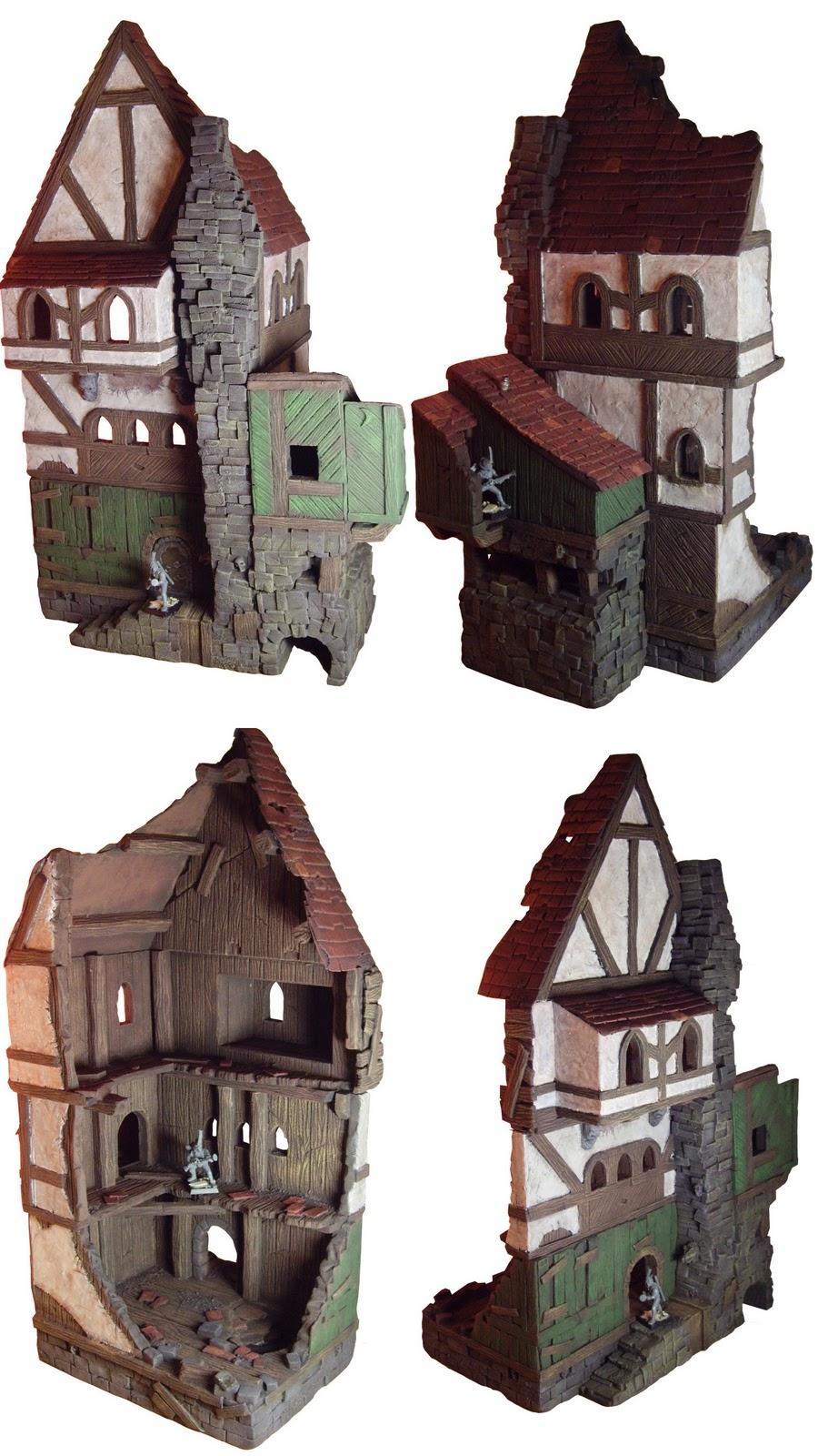 Arny, Medieval, Mordheim, Terrain, Ultraterrain, Wargaming