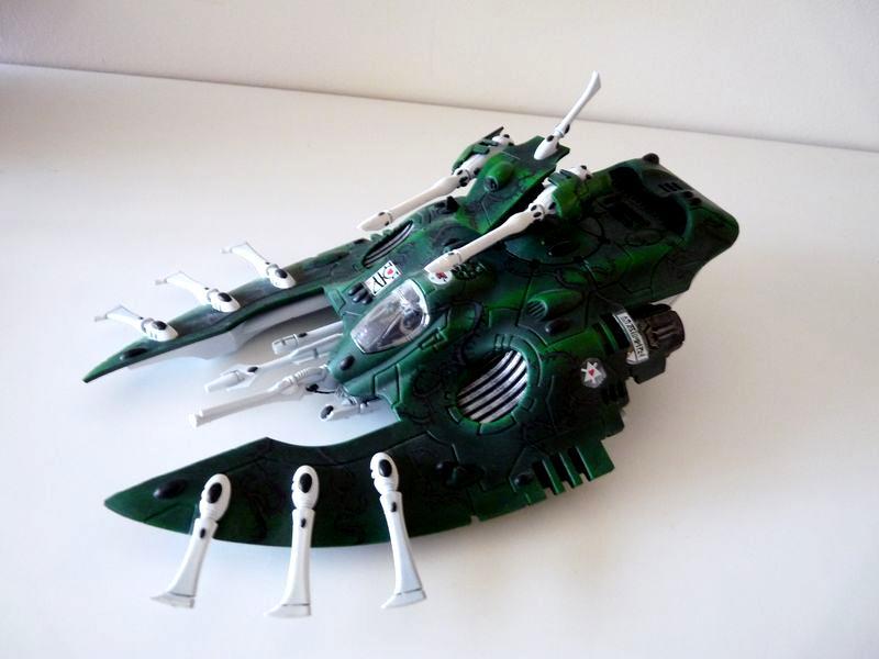 Eldar, Warhammer 40,000, Wave Serpent