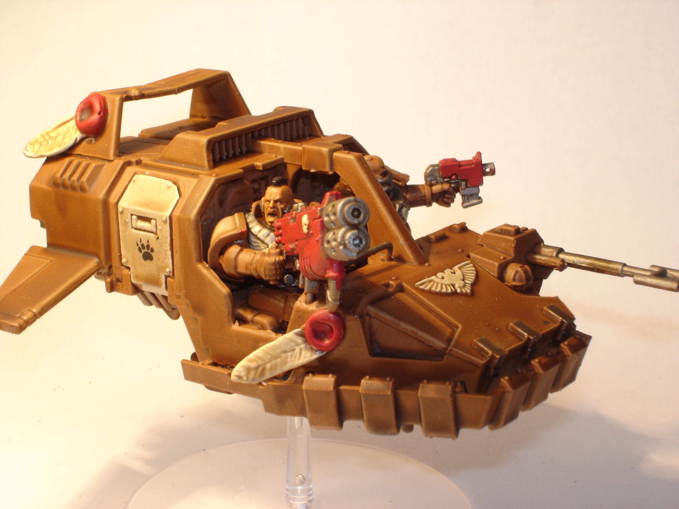 Land Speeder, Space Marines