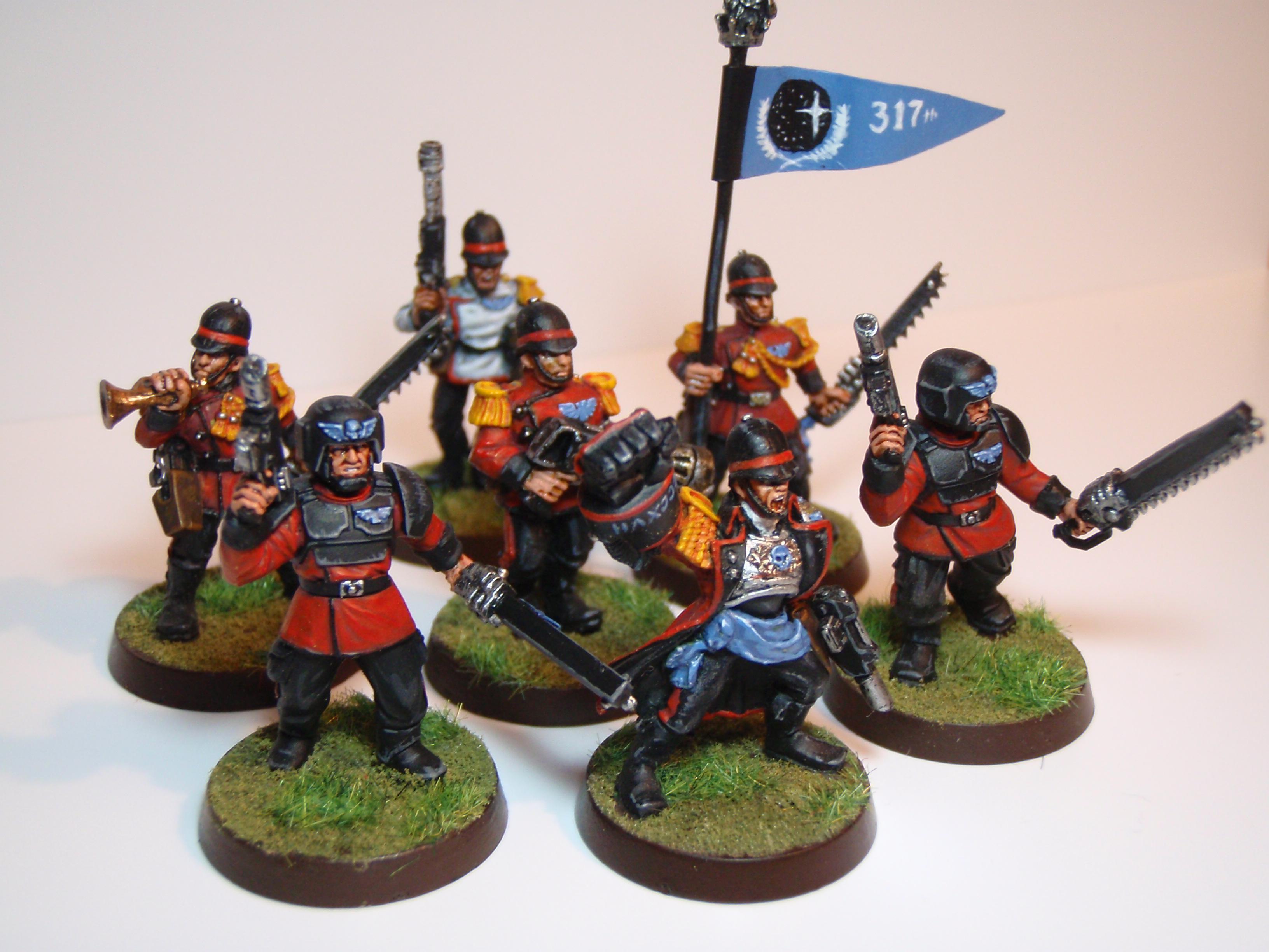 317th Provisionary Company Command Squad