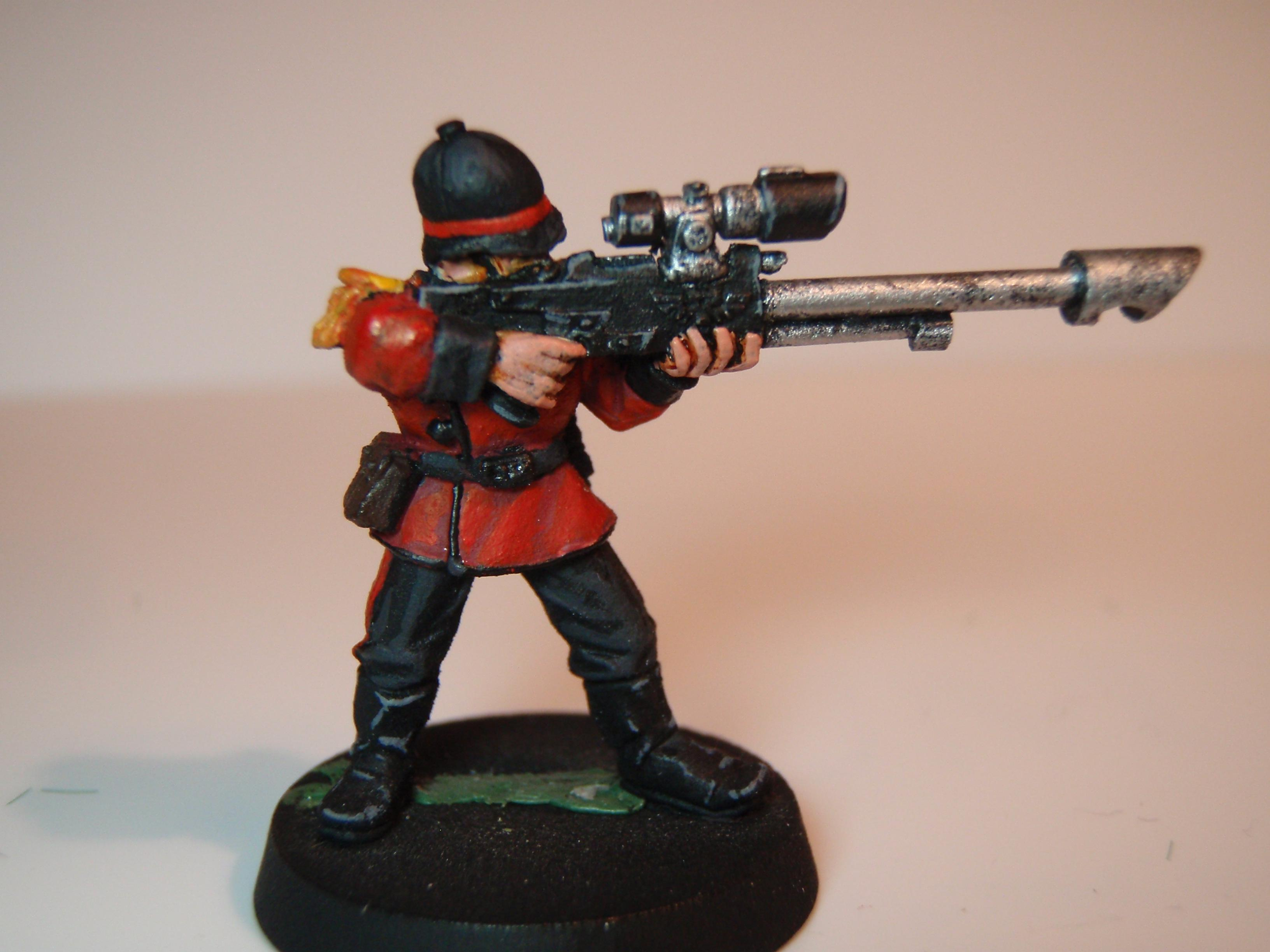 Unfinished Sniper conversion- I may swap him in for the flamer