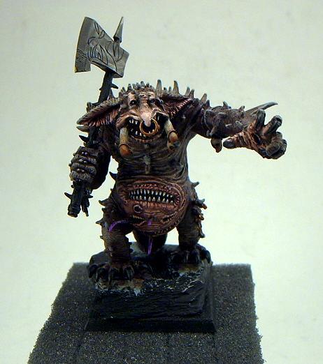 Chaos, Conversion, Mouths, Troll, Tusks, Warhammer Fantasy