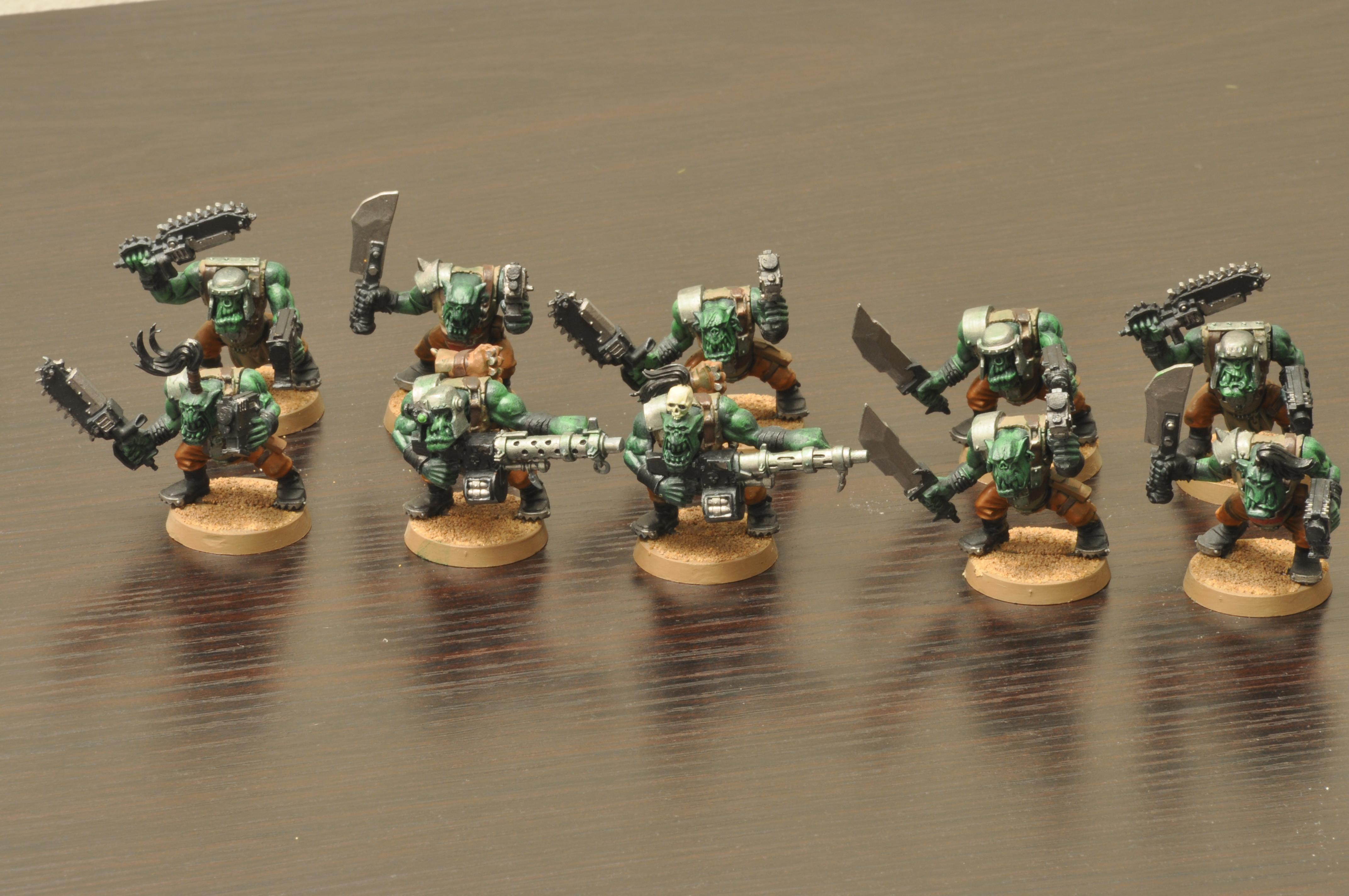 AoBR Ork Boyz (2nd batch) pic 2