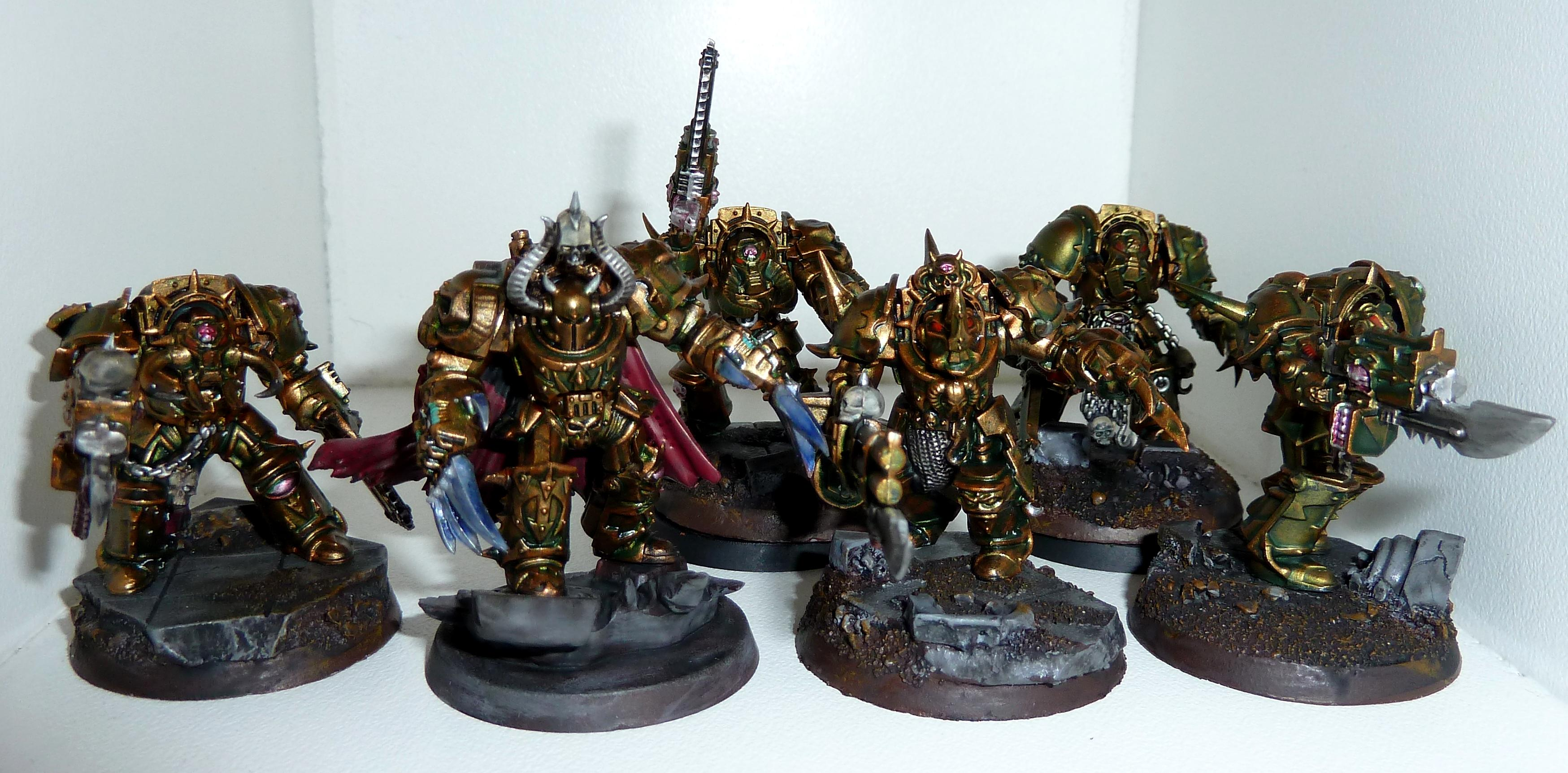 Chaos, Chaos Space Marines, Metals, Undivided, Warhammer 40,000