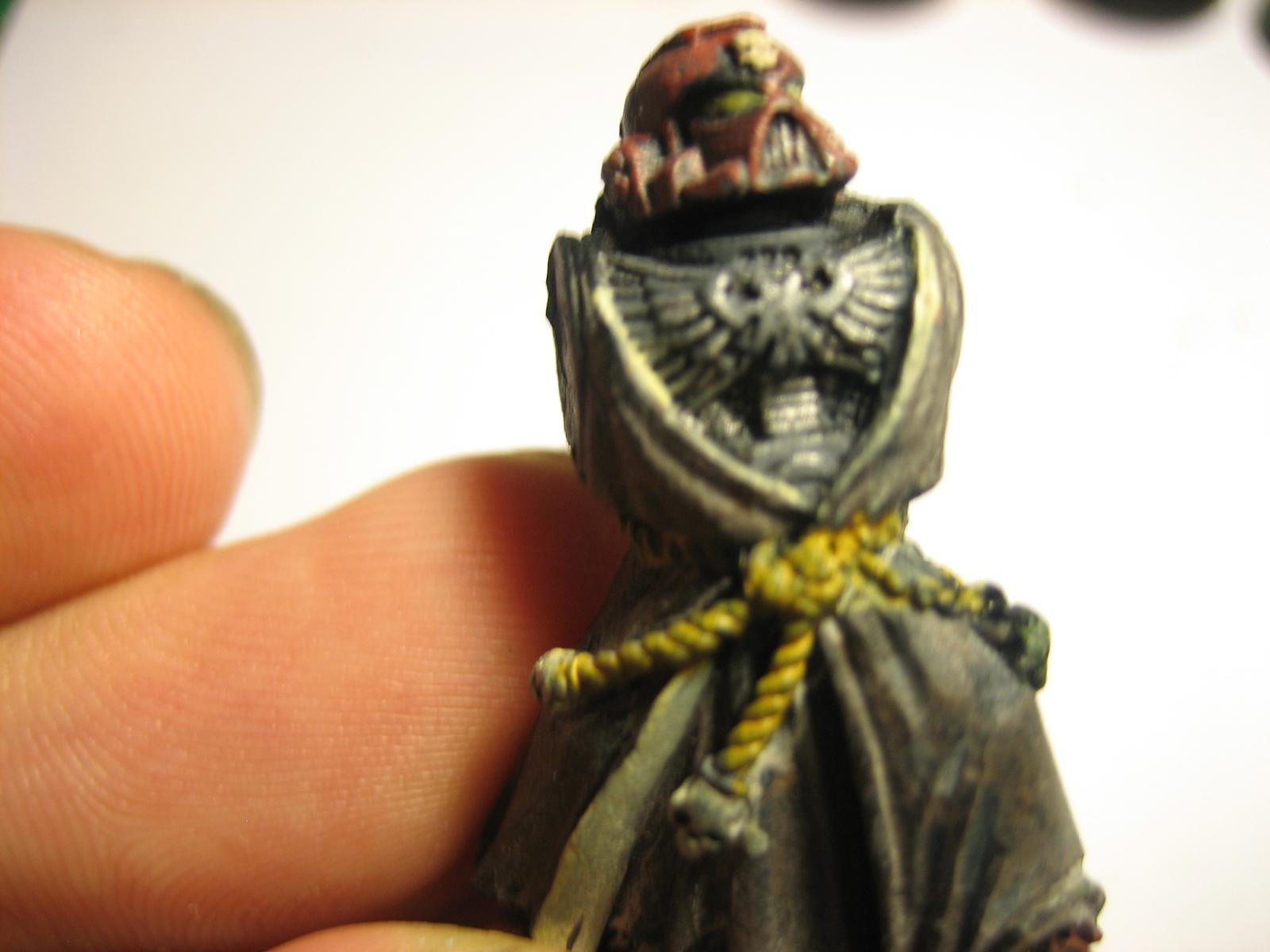 Robe, Space Marines, A marine. Sans arms. Sigh
