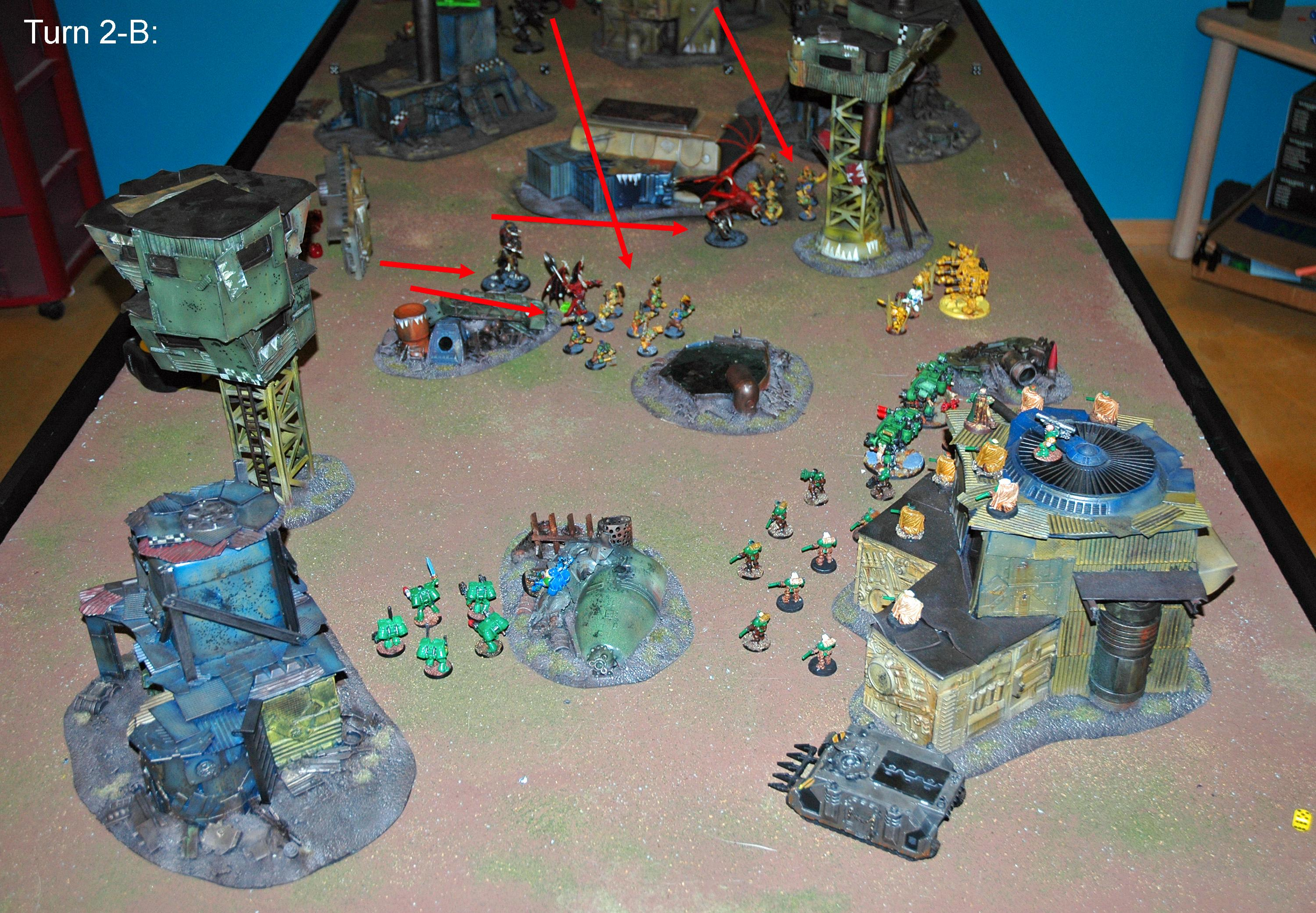 Battle Report, Daemons, Mantis Warriors, Warhammer 40,000