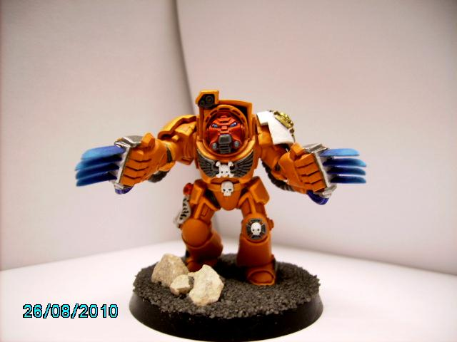 Blood Angels, Space Marines, Terminator Armor
