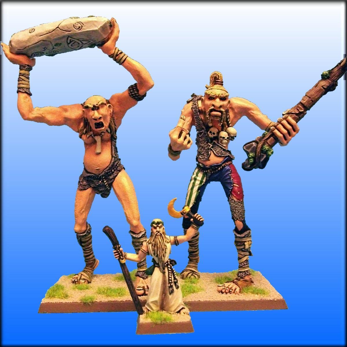 Albion, Dogs Of War, Druid, Giant, Warhammer Fantasy