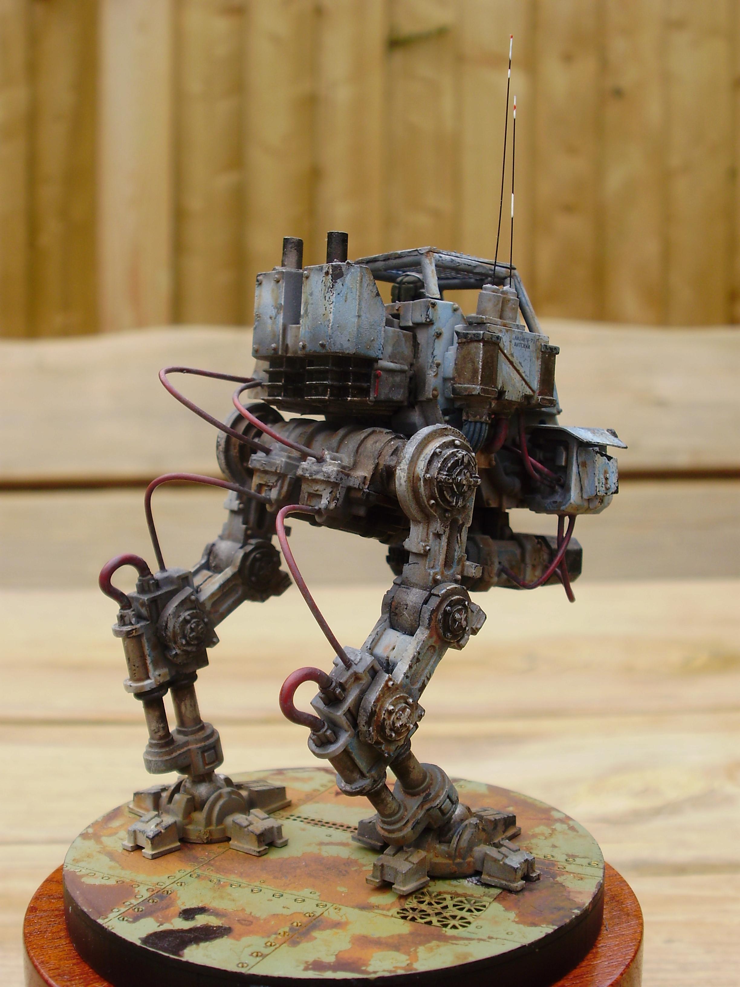Battle Damage, Golden Demon, Rust, Sentinel, Warhammer 40,000