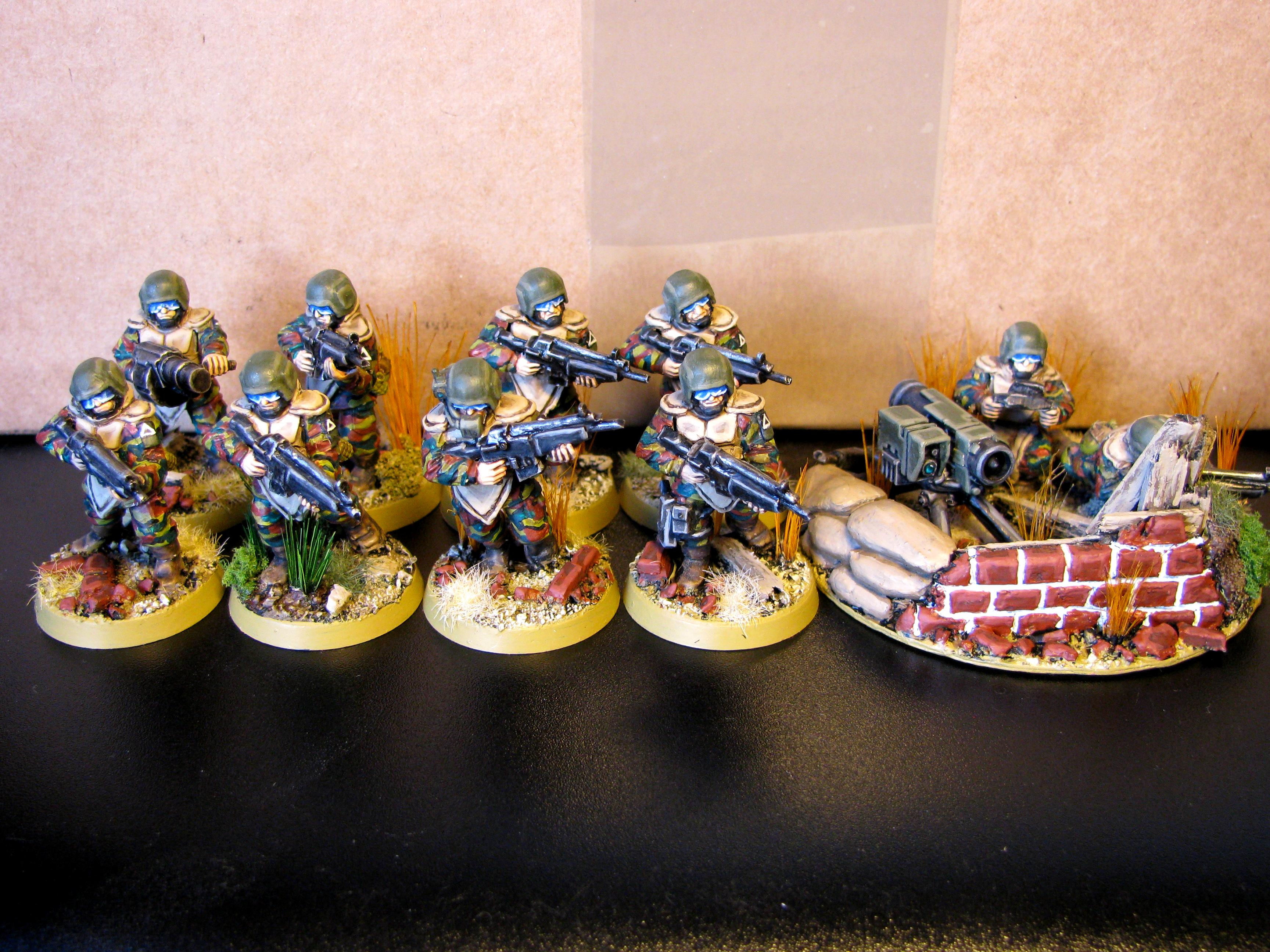 3rd, Belgium, Camouflage, Conversion, Darkon, Imperial Guard, Veteran, Warhammer 40,000, Work In Progress