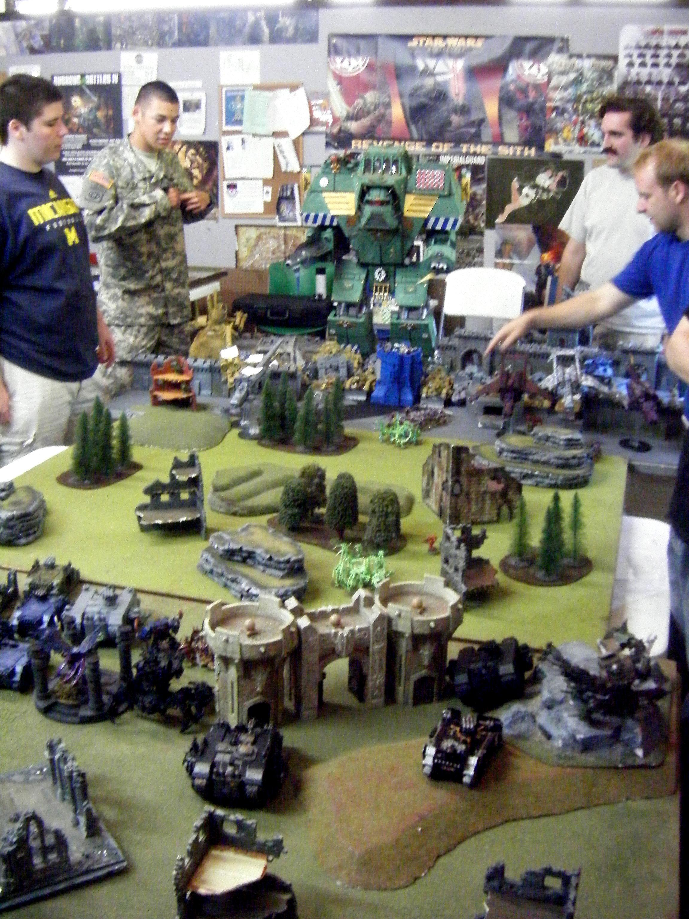 Apocalypse, First turn deployment
