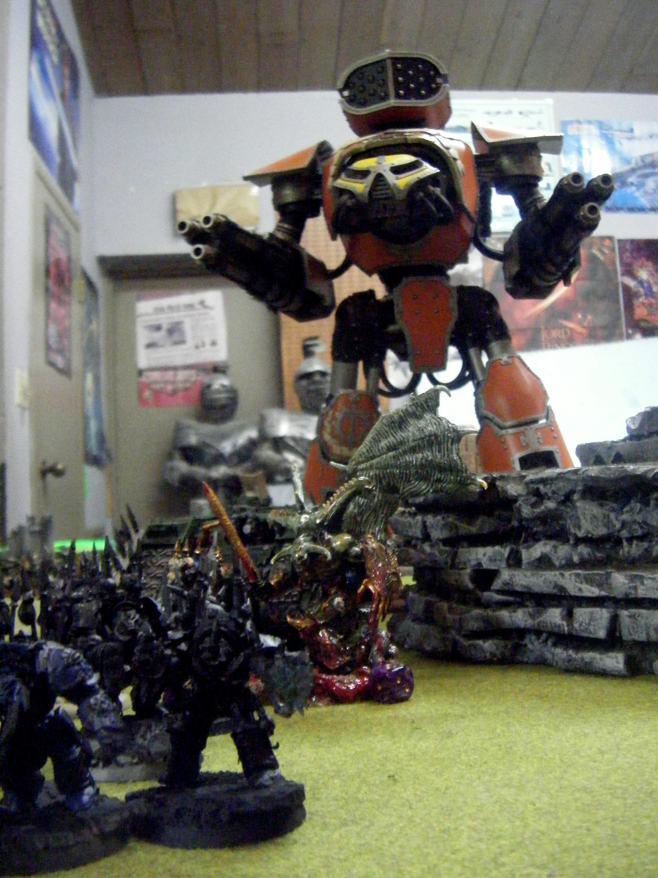 Apocalypse, The Reaver backs up Chaos