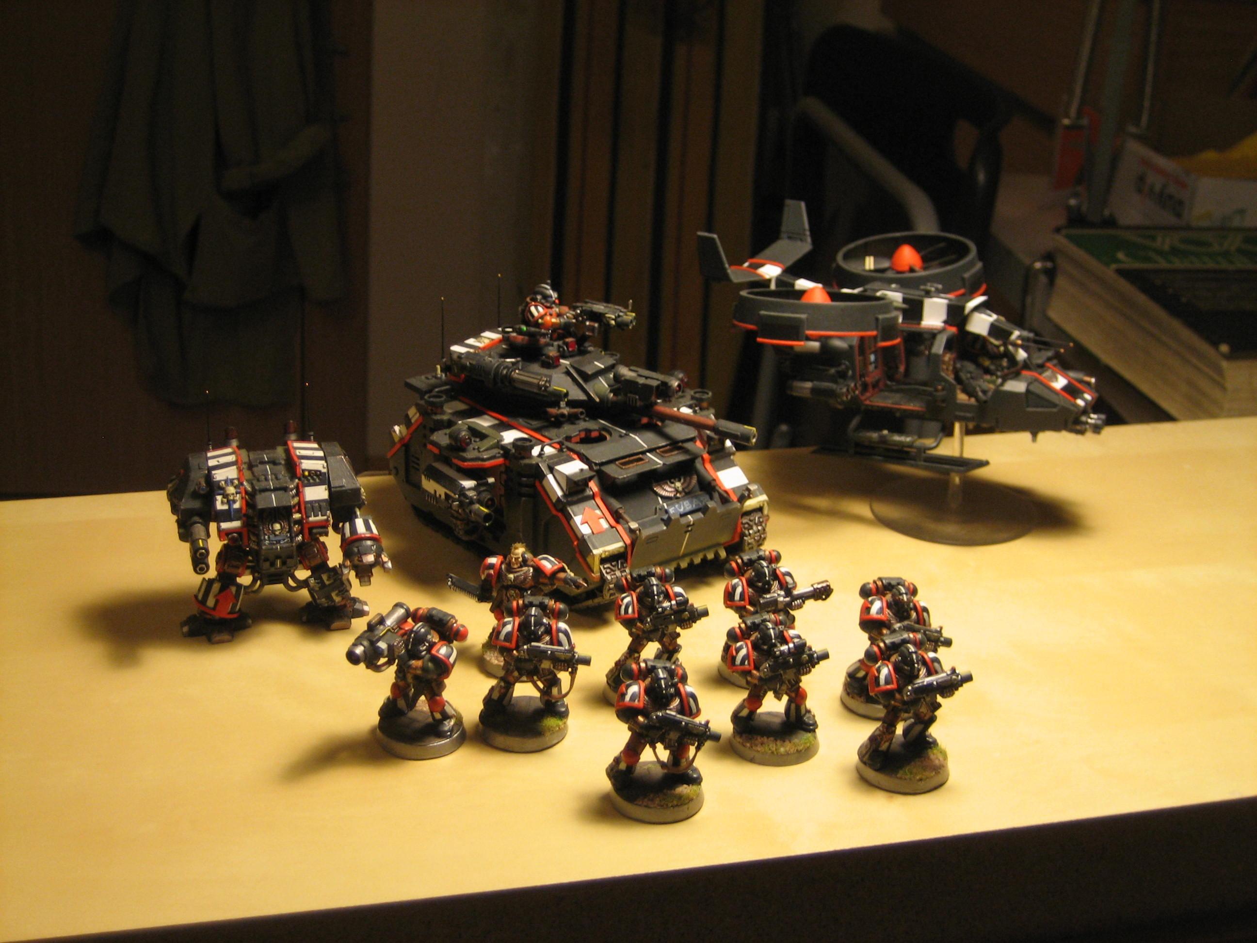 Land Speeder Storm, Predator, Space Marines