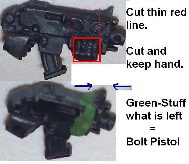 Bolt, Convert, Craft, Cut, Misc. / W.i.p. (2010), Pistol