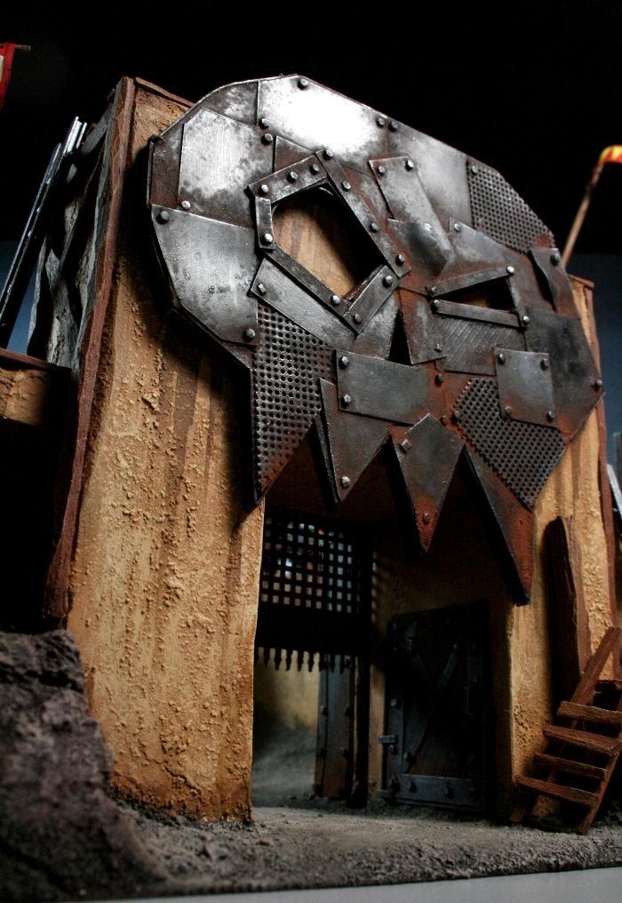 Arena, Duel, Orks, Space Ork, Squig Fighting Pit, Squigs, Terrain