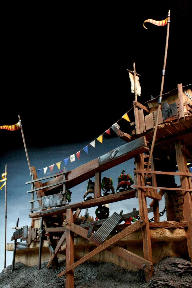 Arena, Duel, Orks, Space Ork, Squigs, Terrain