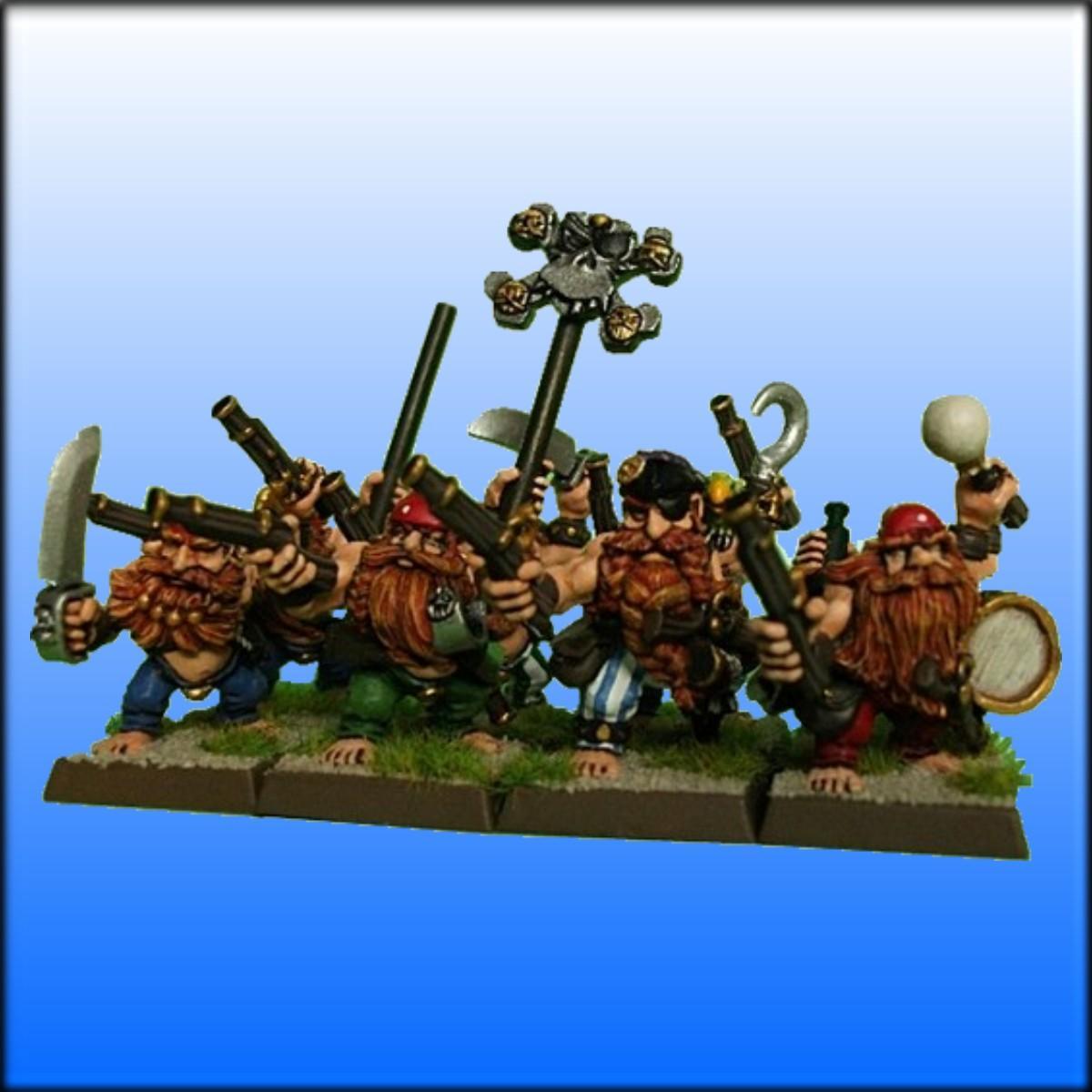 Arr!, Dogs Of War, Dwarves, Pirates, Warhammer Fantasy