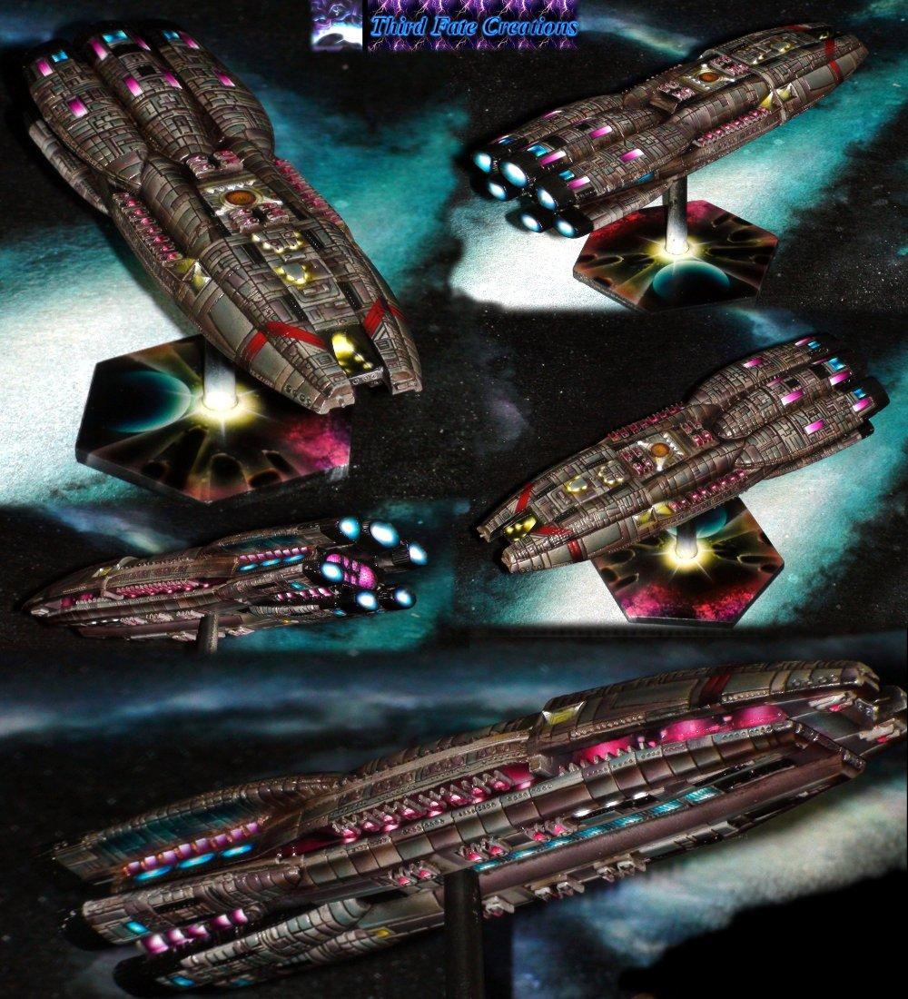 Battlestar Galactica, Space Ship