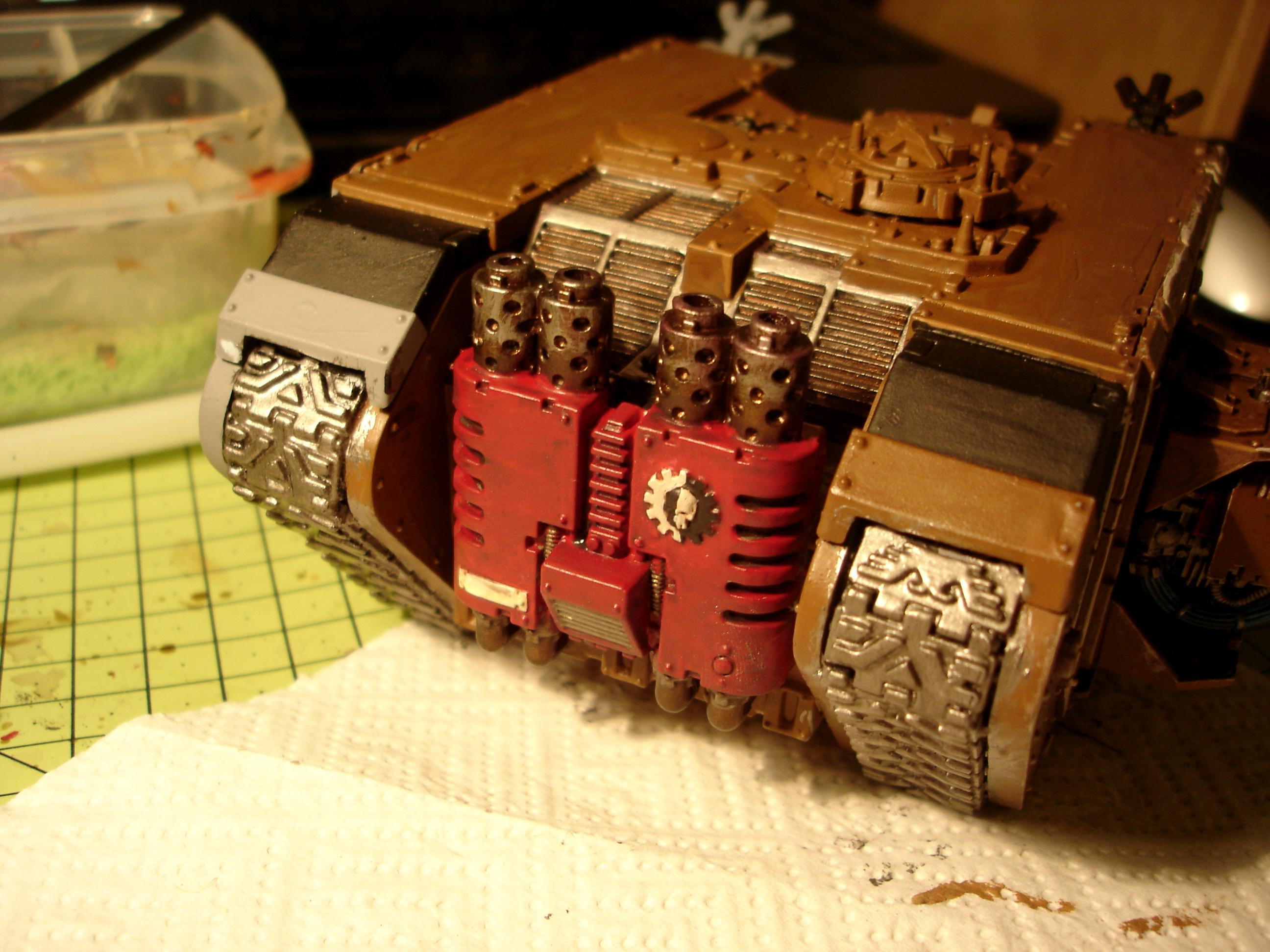 My Land raider from the stern