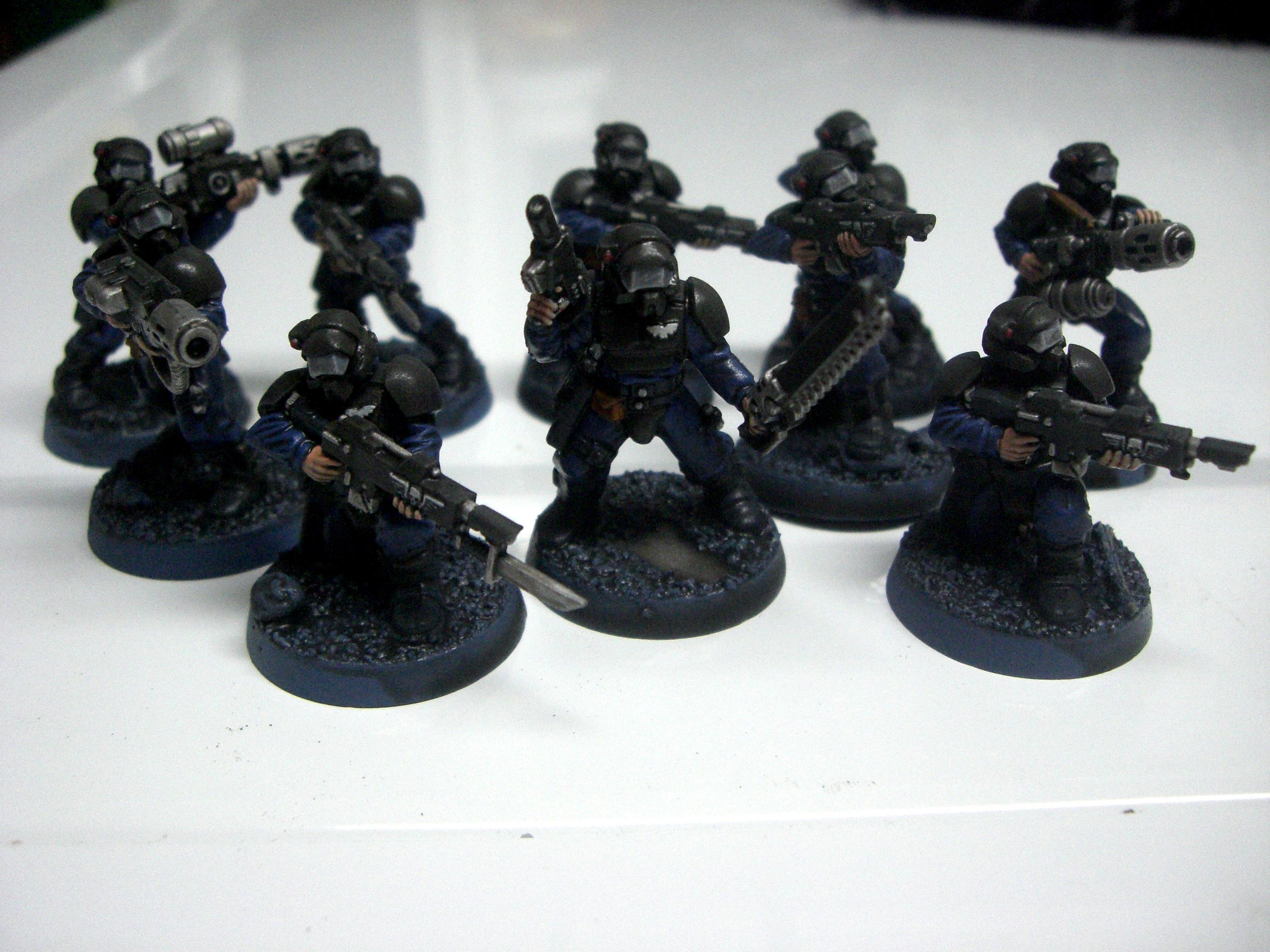 Conversion, Halo, Imperial Guard, Meltagun, Penal Legion, Quickshade, The Army Painter, Veteran, Veteran Squad, Visor, Work In Progress