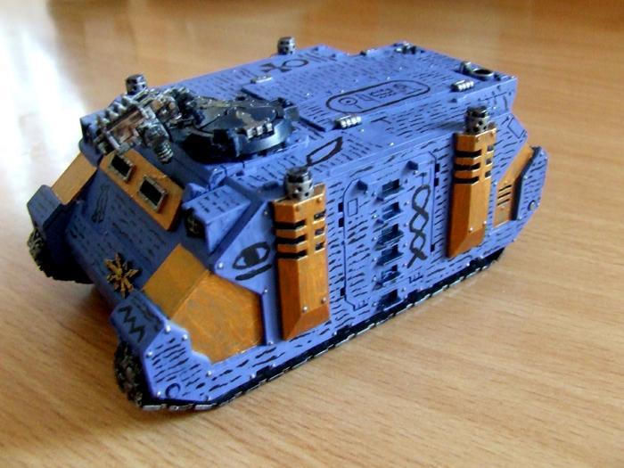 Chaos, Chaos Space Marines, Rhino, Thousand Sons, Transport, Tzeentch, Warhammer 40,000