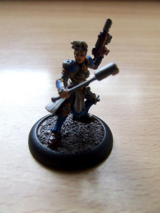 Adeptus Arbites, Arbite, Dark Heresy, Enforcer, Female, Police, Warhammer 40,000