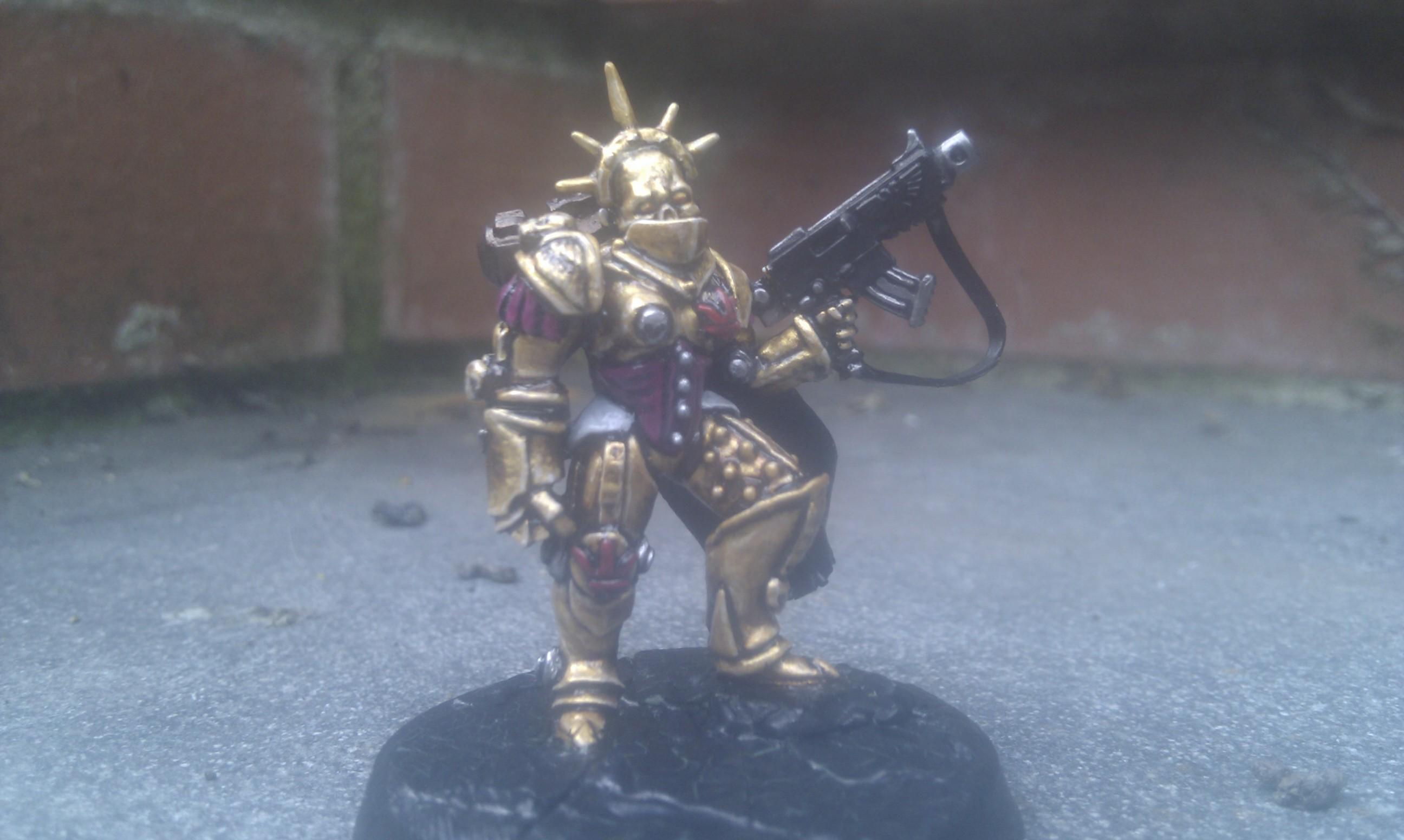 Conversion, Sculpted, Sisters Of Battle, Warhammer 40,000