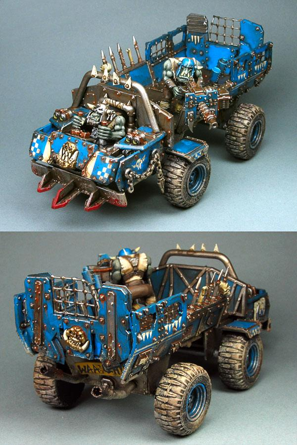 Death, Deathskulls, Orks, Pick Up, Pikk Up, Skull, Skullz, Trukk, Warhammer 40,000
