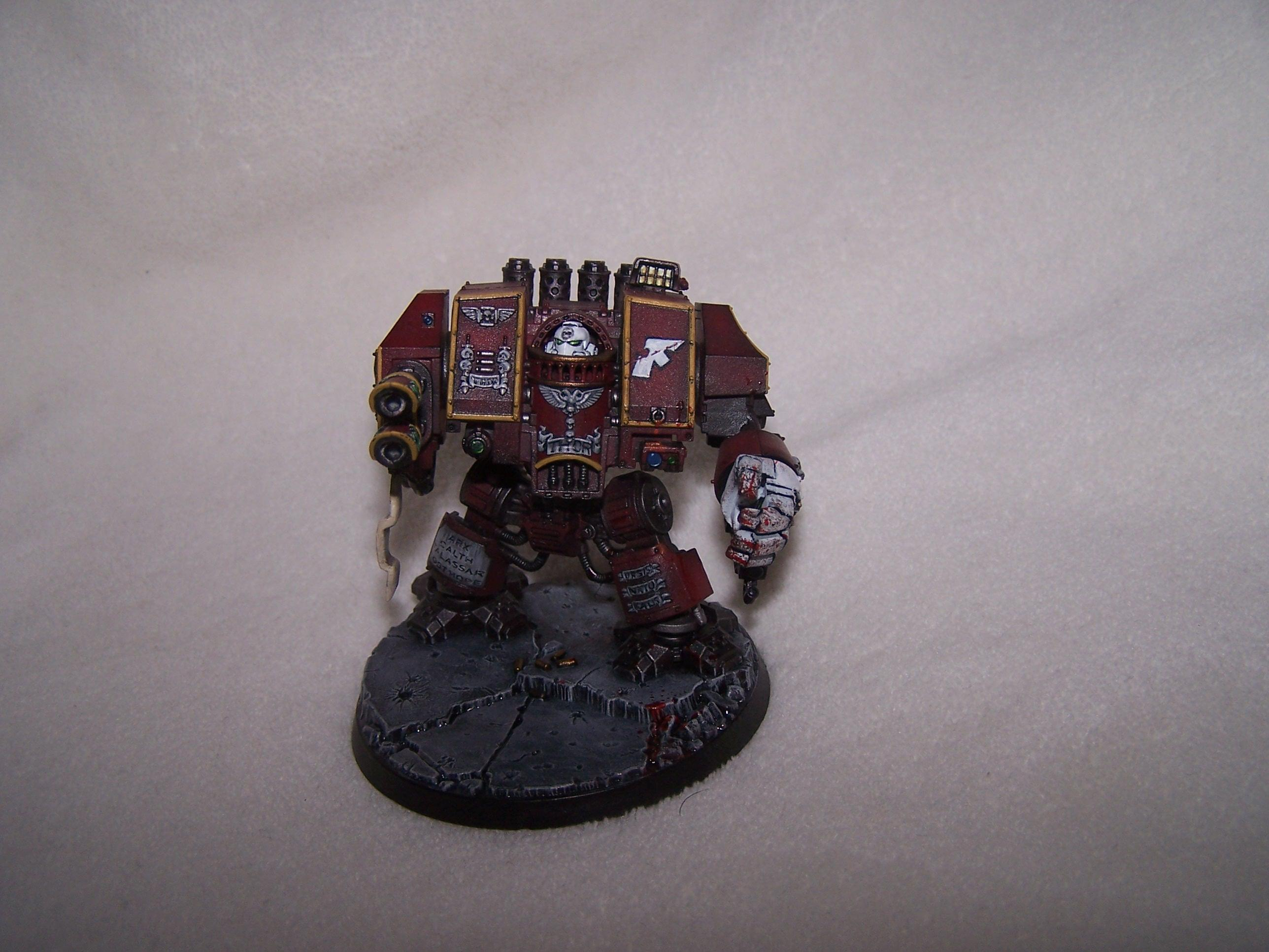 Dreadnought, Emperor's Wings, Space Marines, Venerable Dreadnought