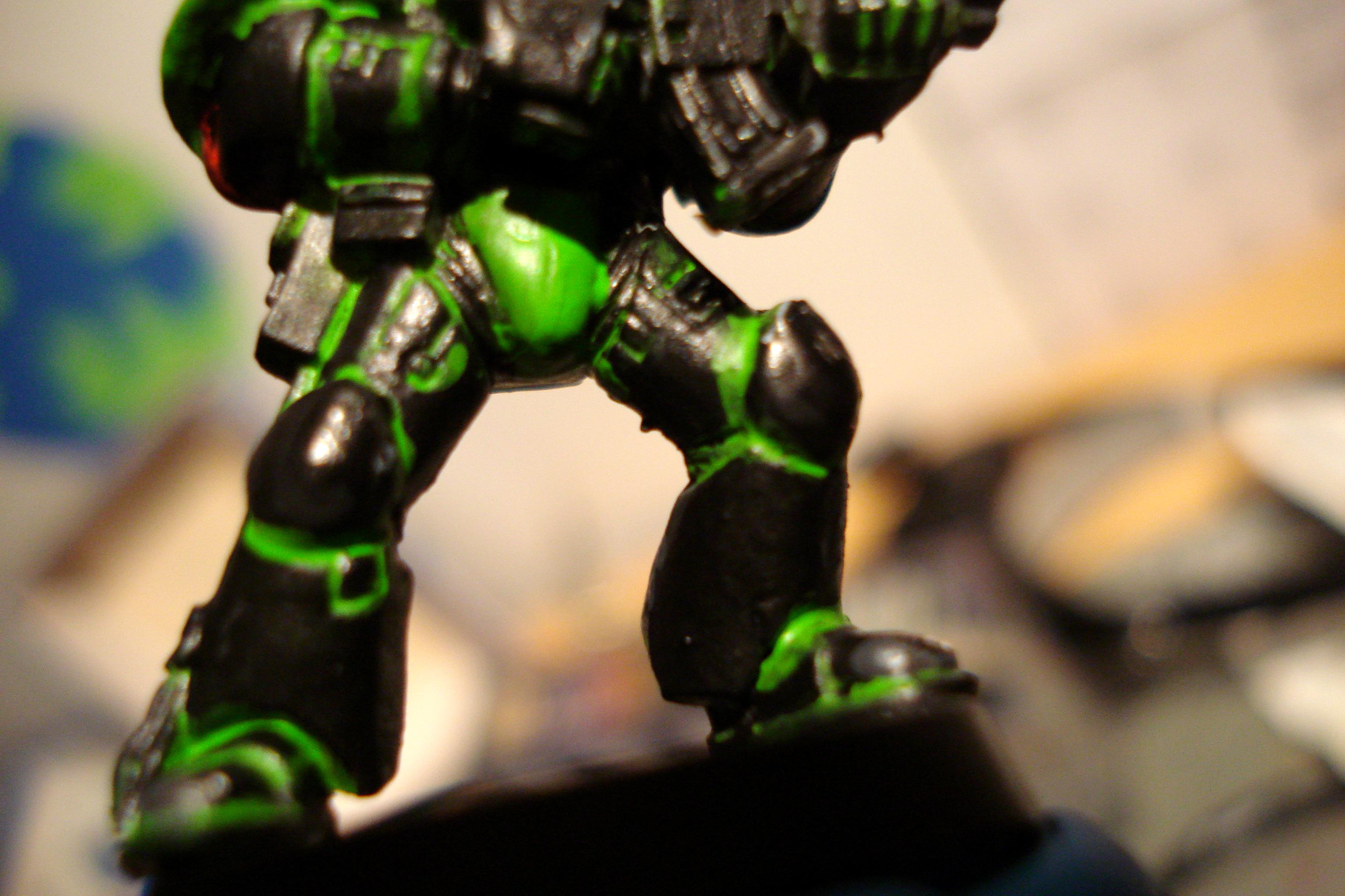 Space Marines, First Mock Up
