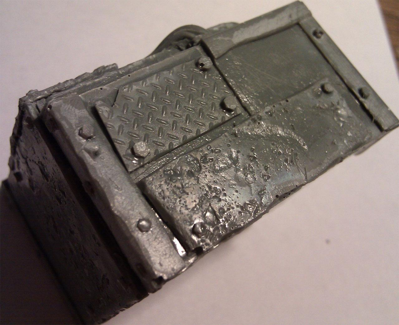 Iron Grumber, Work In Progress