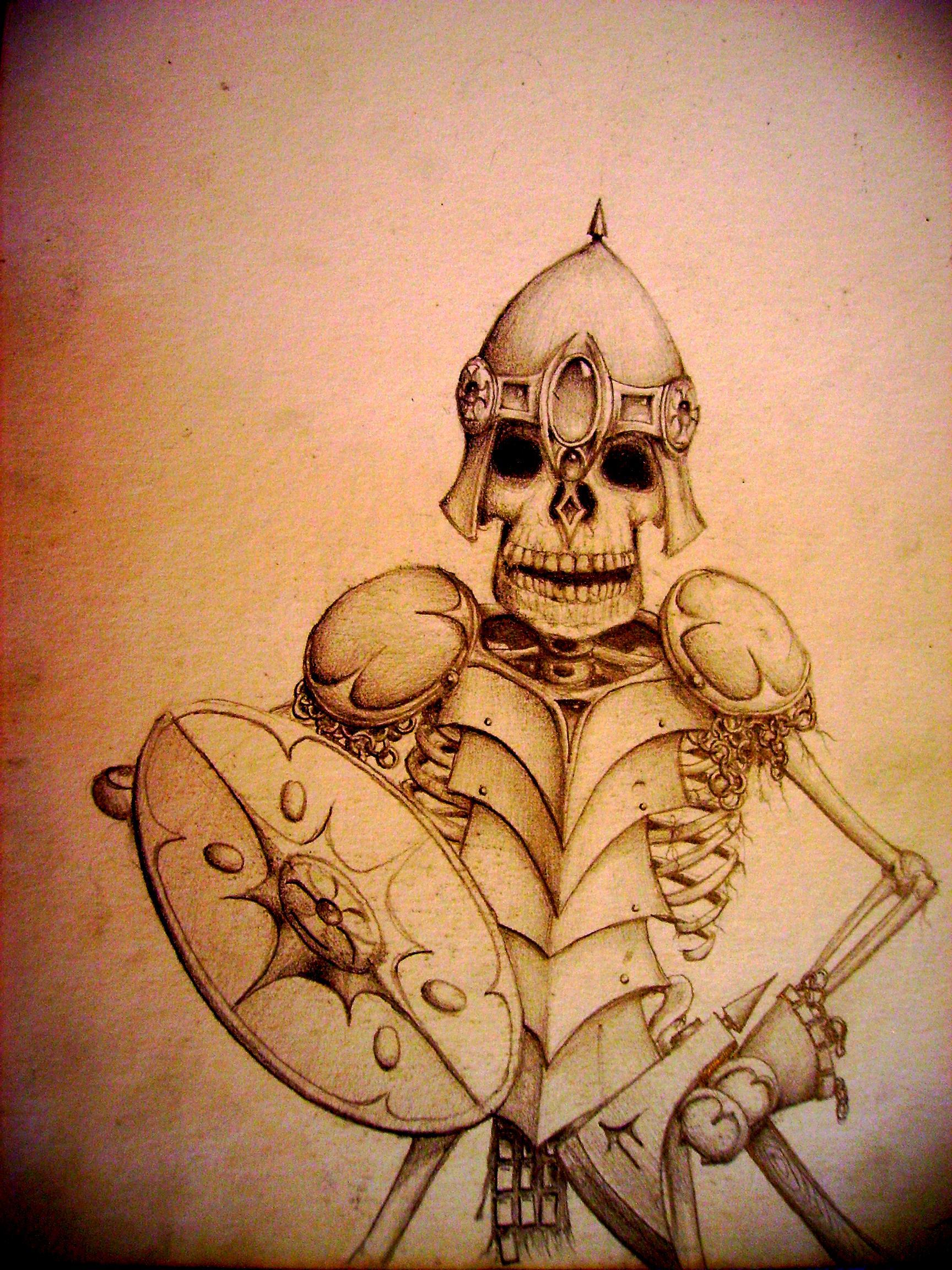 Artwork, Drawing, Sculpture, Skeletons