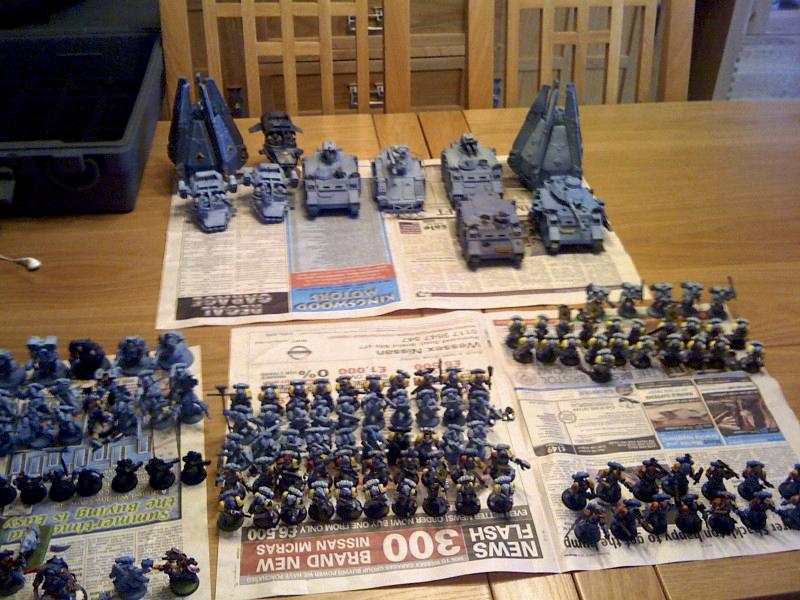 Army, Space Marines, My Space Wolves