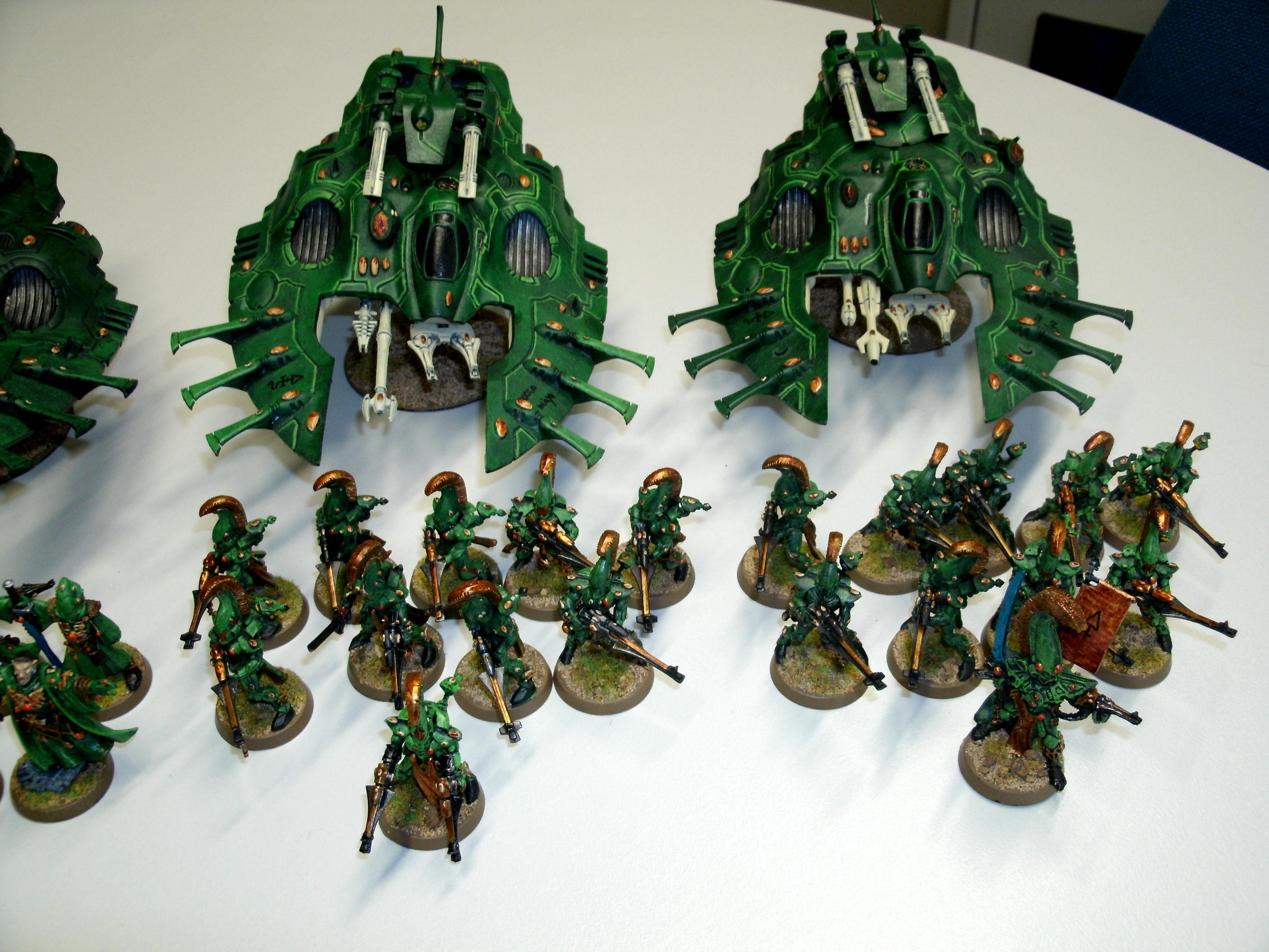 Army, Closeup, Eldar, Warhammer 40,000