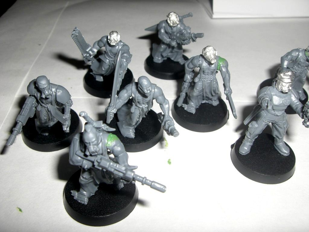 Conversion, Imperial Guard, Penal Legion, Penal Squad, Work In Progress