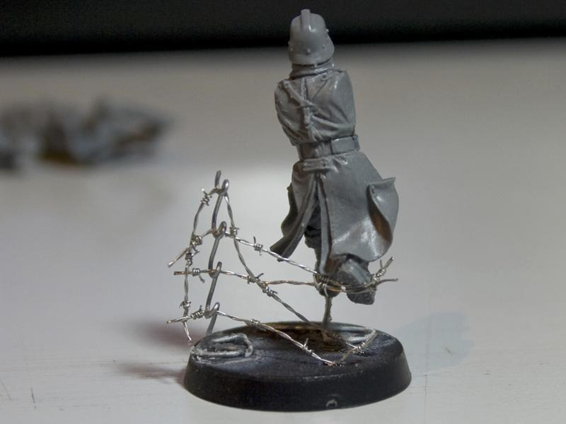 Barb Wire, Barbed Wire, Barbwire, Nurgle's Rope, Tutorial