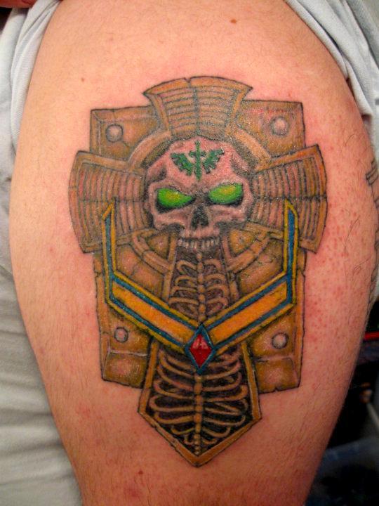 Cool, Crux Terminatus, Dark Angels, Tattoo, Warhammer 40,000, Warhammer Fantasy