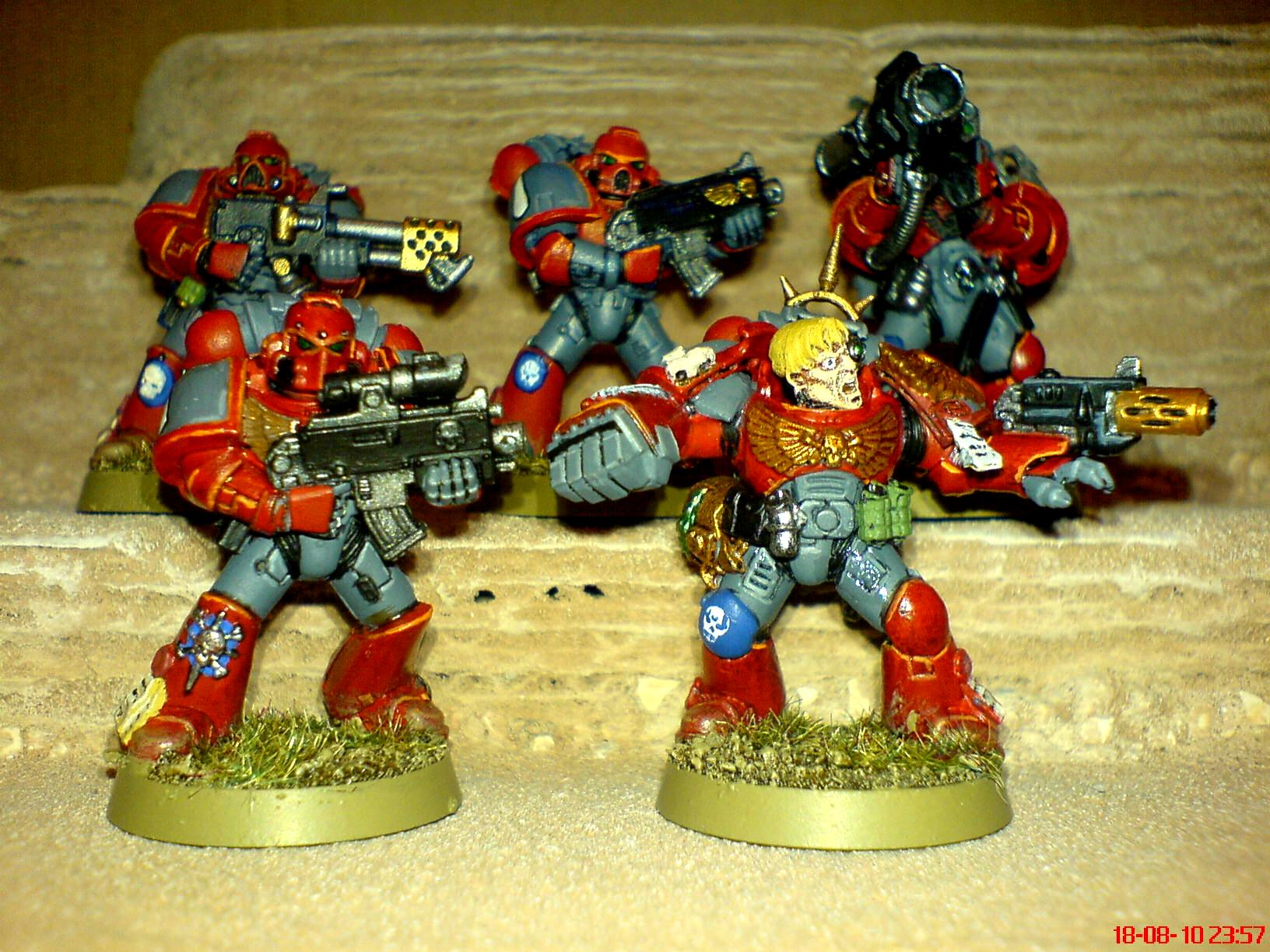 Blood Angels, Blood Wraiths, Power Armour, Space Marines, Successors, Tactical Squad